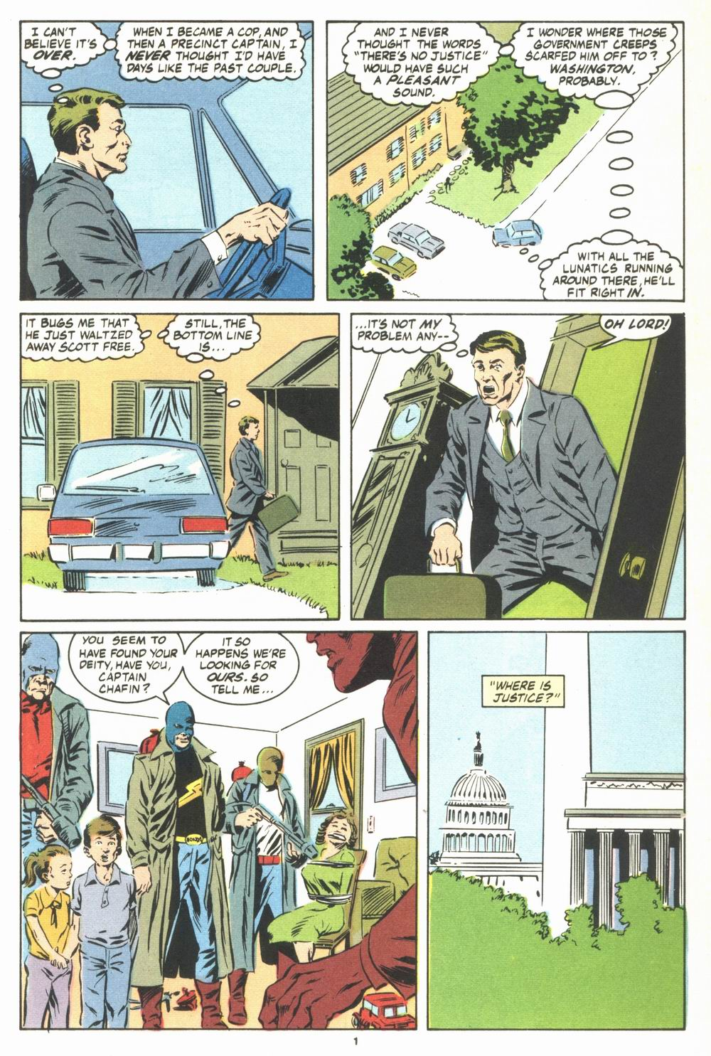 Read online Justice (1986) comic -  Issue #23 - 3