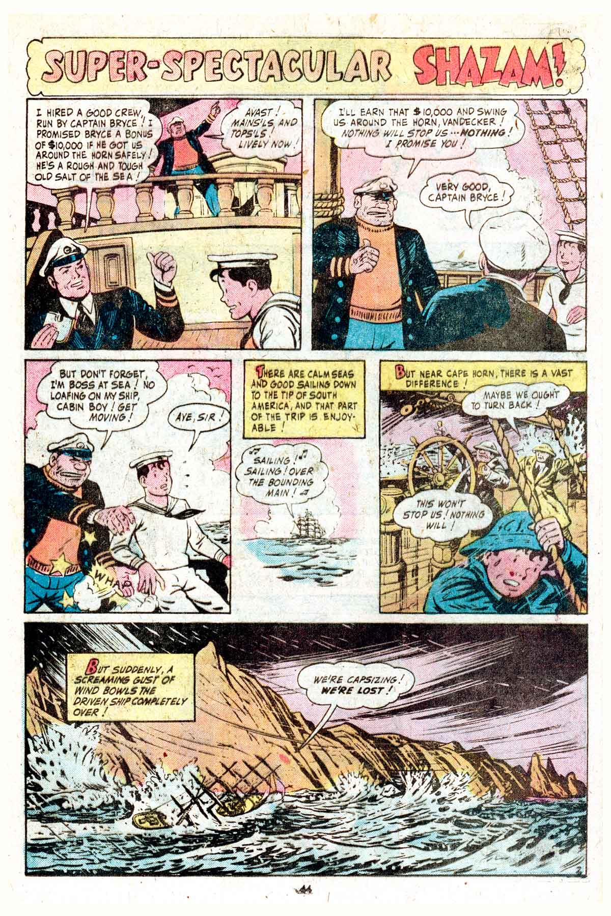 Read online Shazam! (1973) comic -  Issue #17 - 44