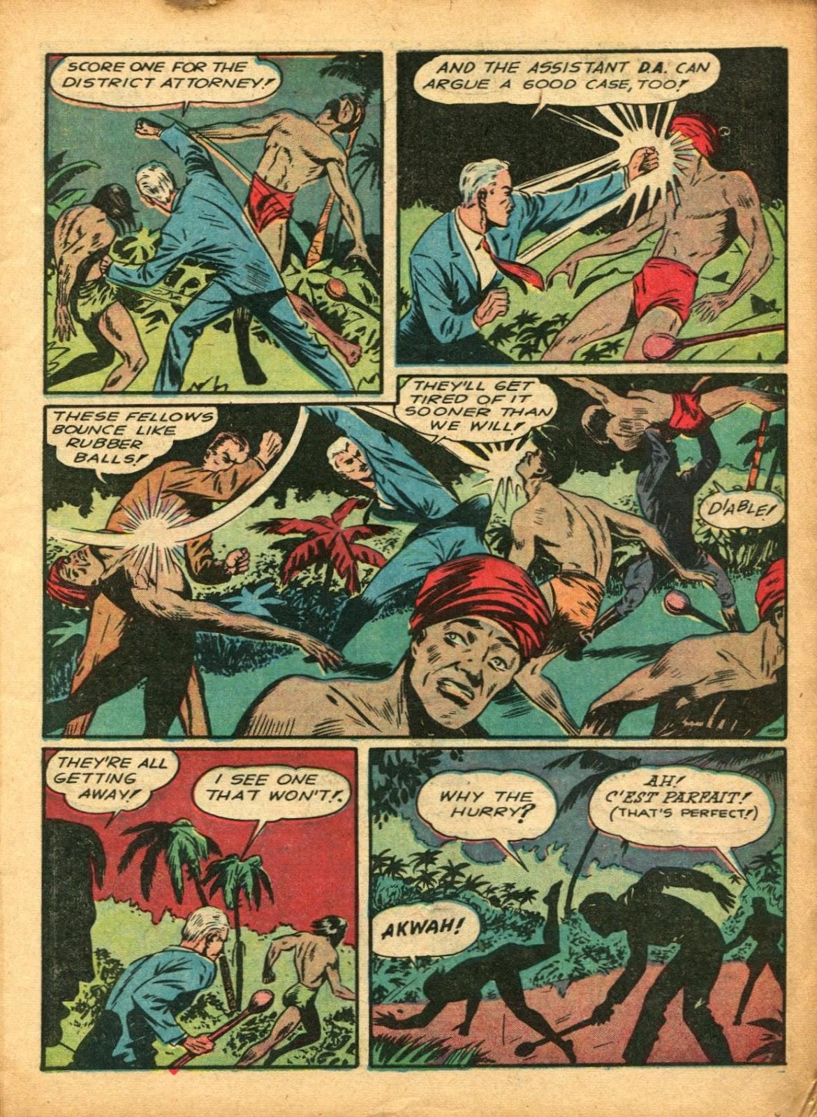 Read online Super-Magician Comics comic -  Issue #5 - 11