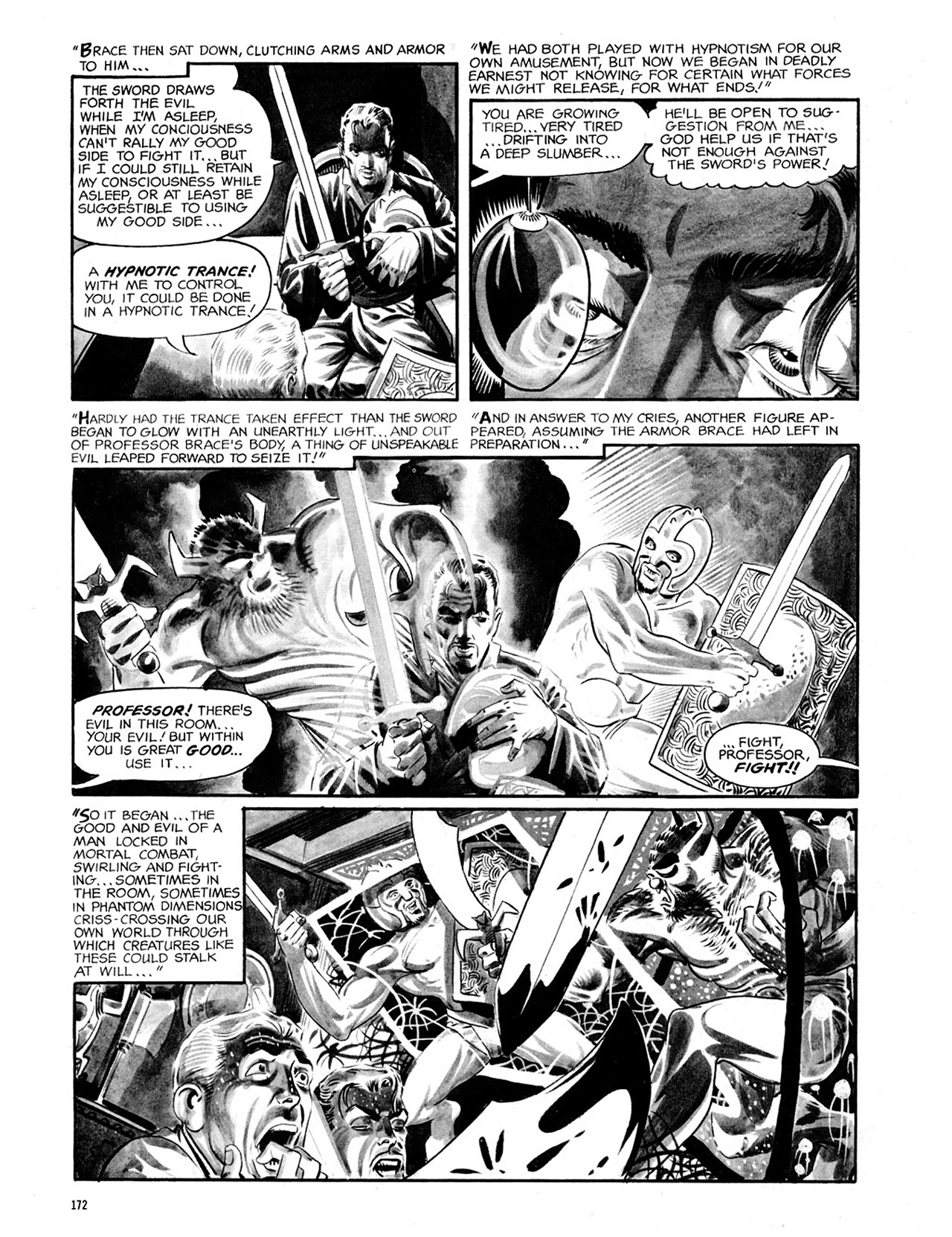 Read online Eerie Archives comic -  Issue # TPB 2 - 173