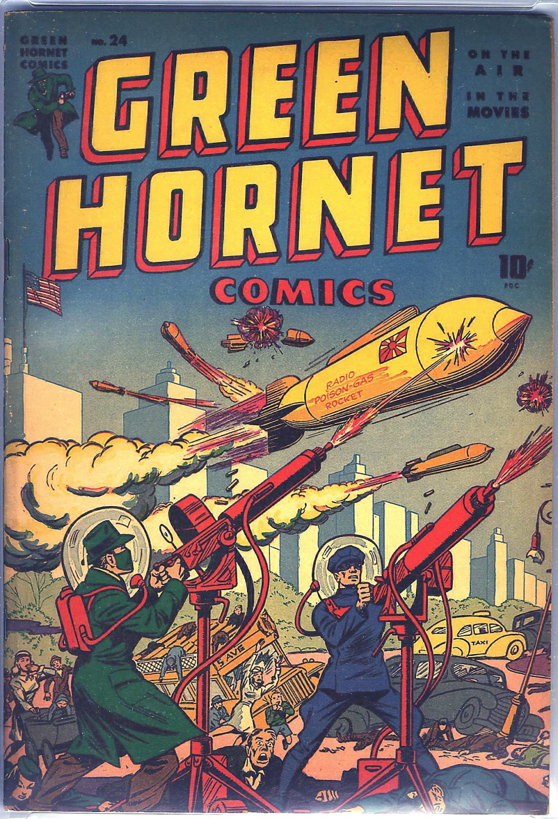 Green Hornet Comics 24 Page 1