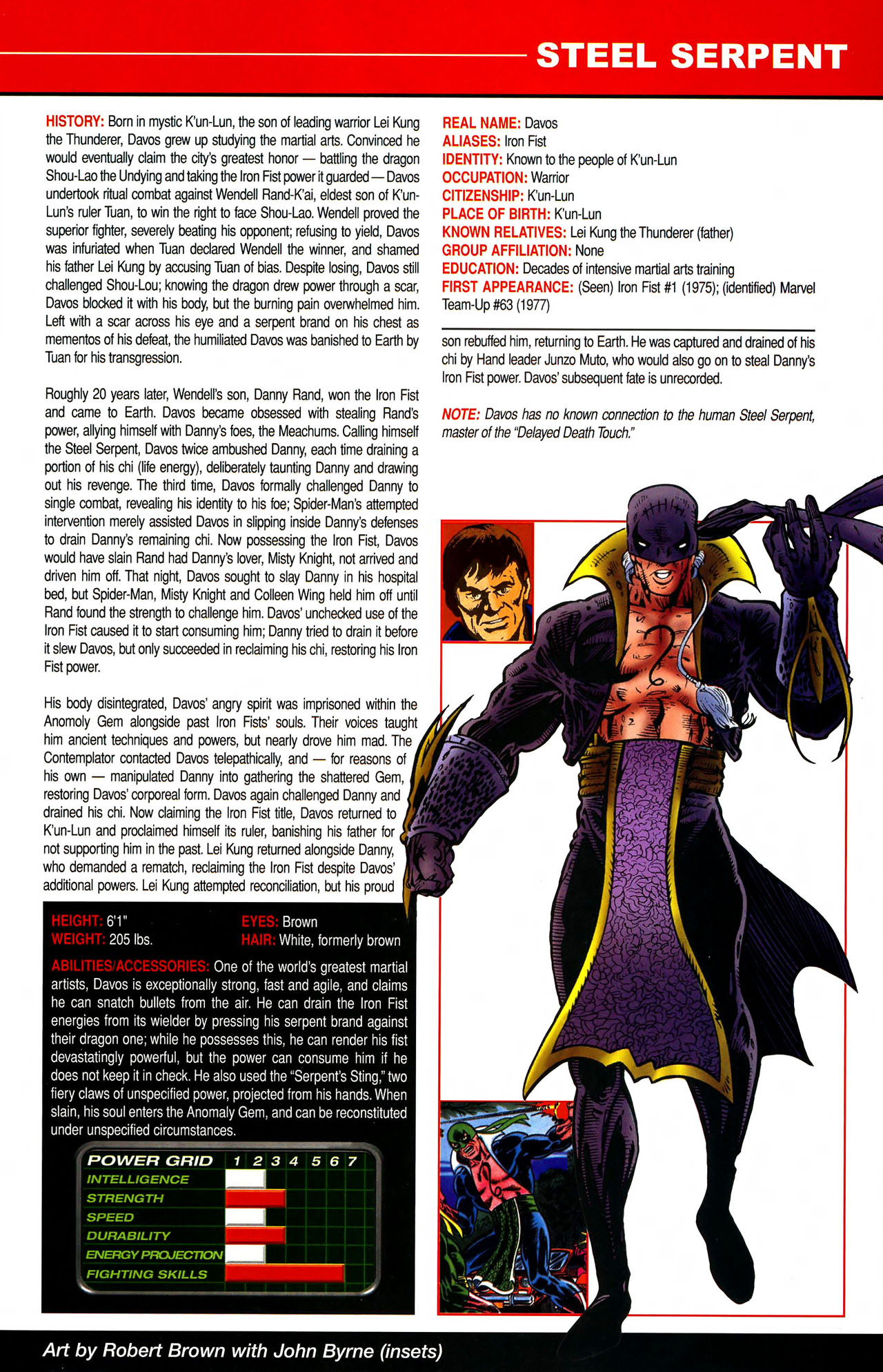 Read online All-New Official Handbook of the Marvel Universe A to Z comic -  Issue #10 - 61
