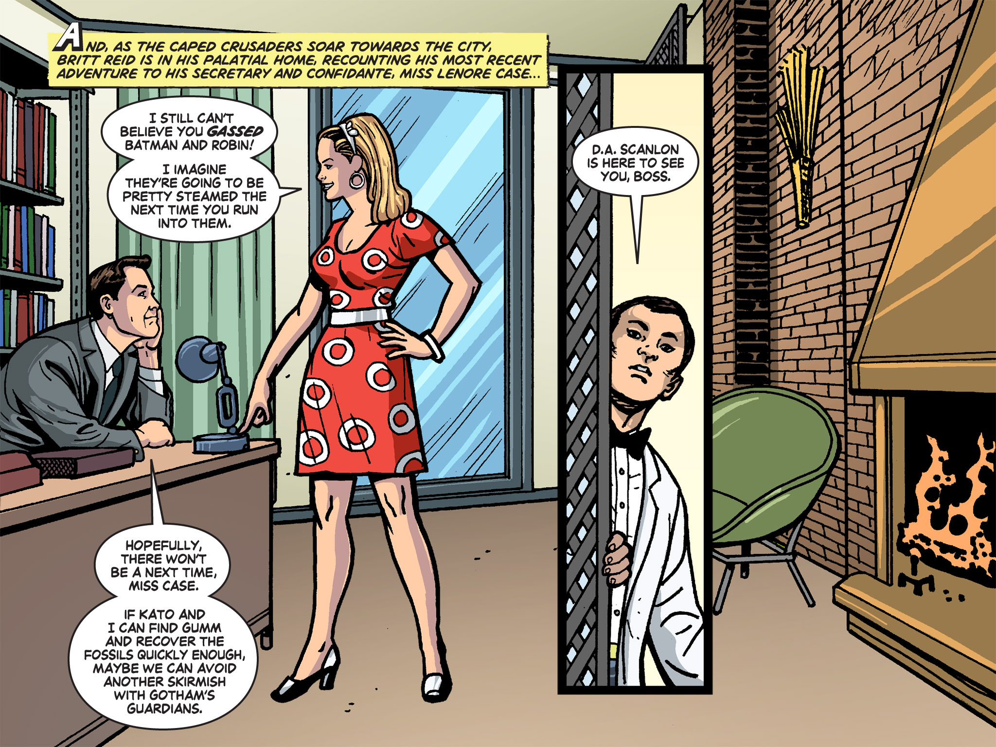 Read online Batman '66 Meets the Green Hornet [II] comic -  Issue #4 - 41