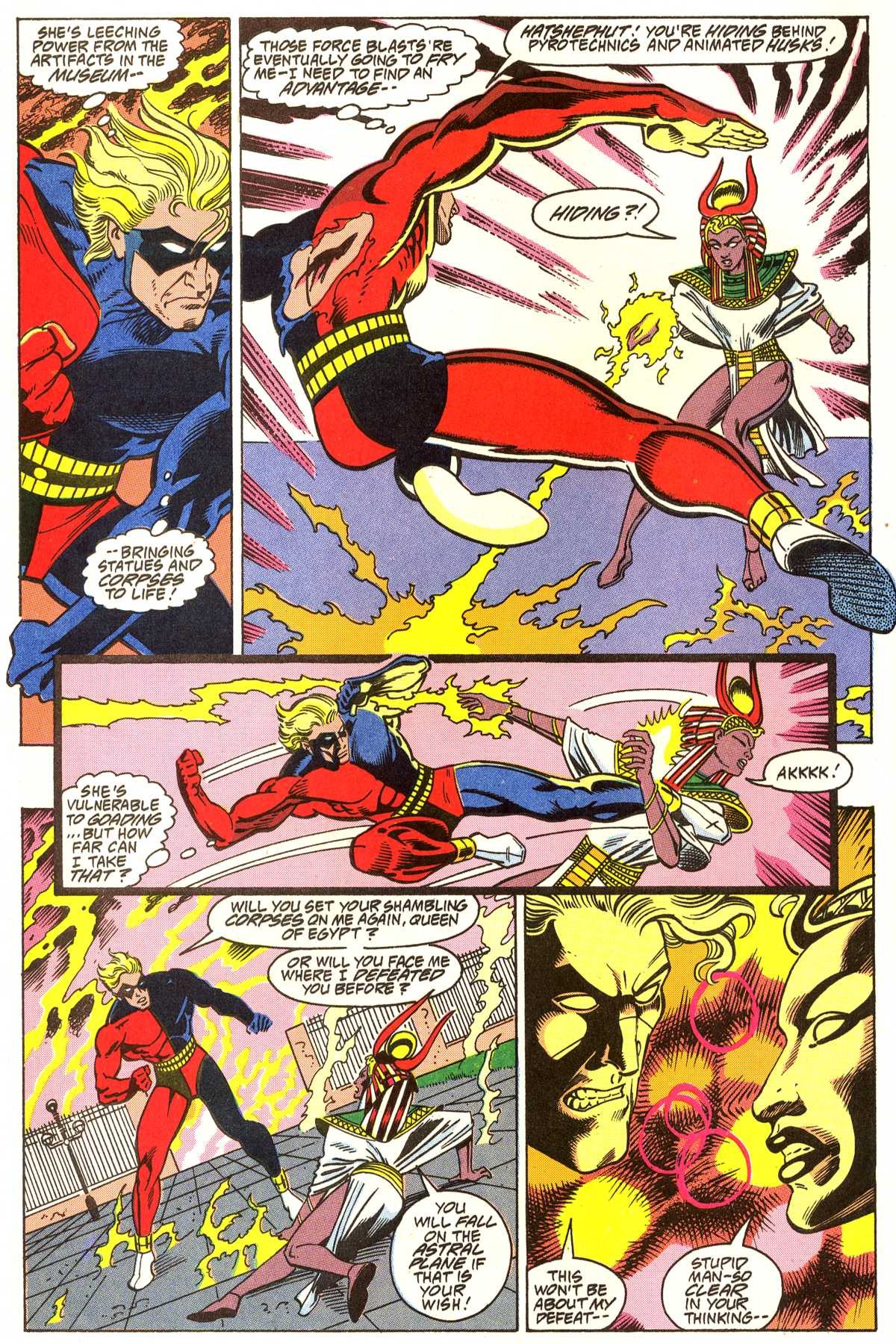 Read online Peter Cannon--Thunderbolt (1992) comic -  Issue #4 - 5