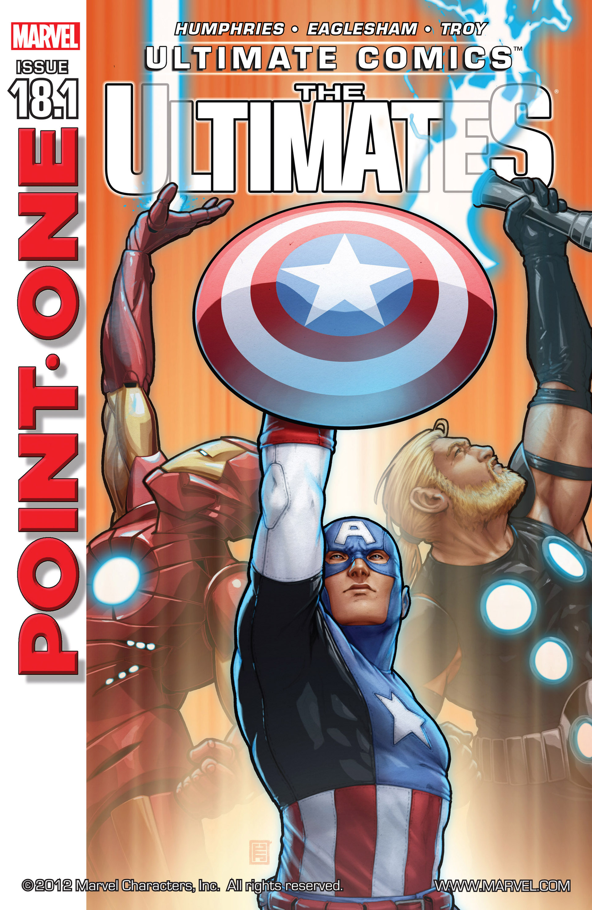 Read online Ultimate Comics Ultimates comic -  Issue #18.1 - 1