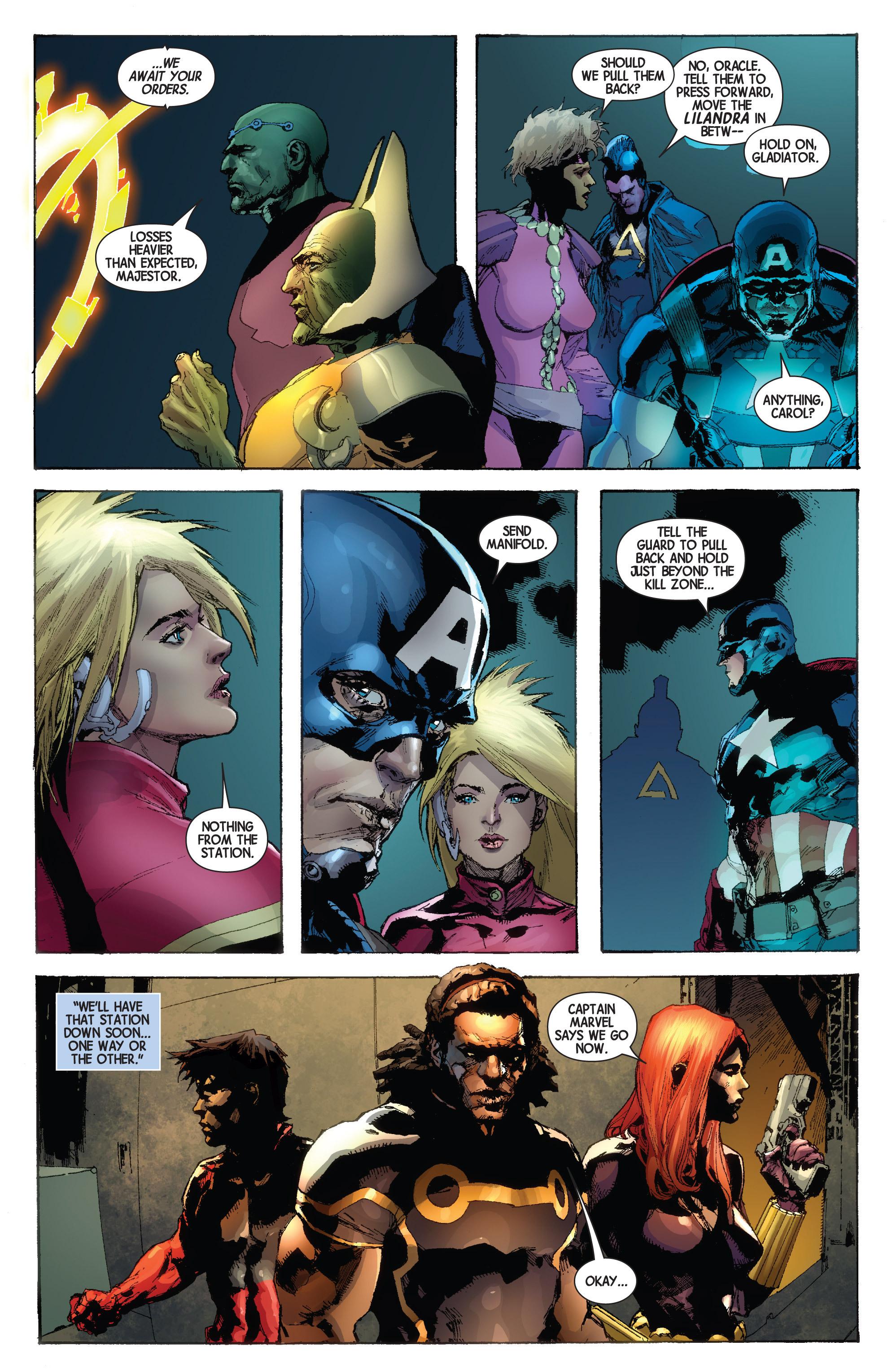 Read online Avengers (2013) comic -  Issue #Avengers (2013) _TPB 4 - 164