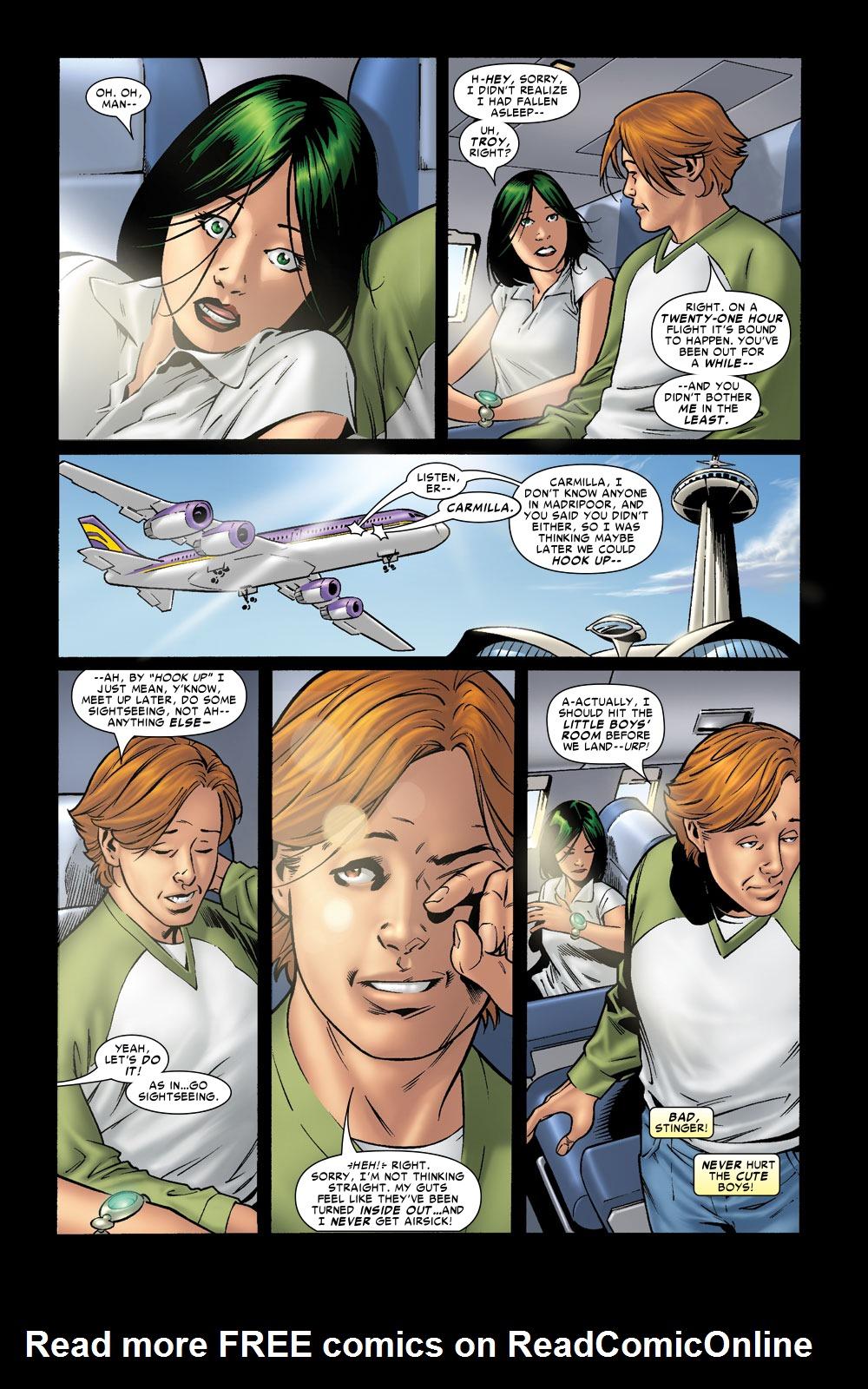 Read online Amazing Fantasy (2004) comic -  Issue #8 - 4