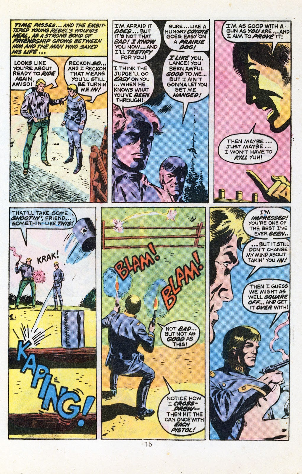 The Outlaw Kid (1970) issue 30 - Page 17