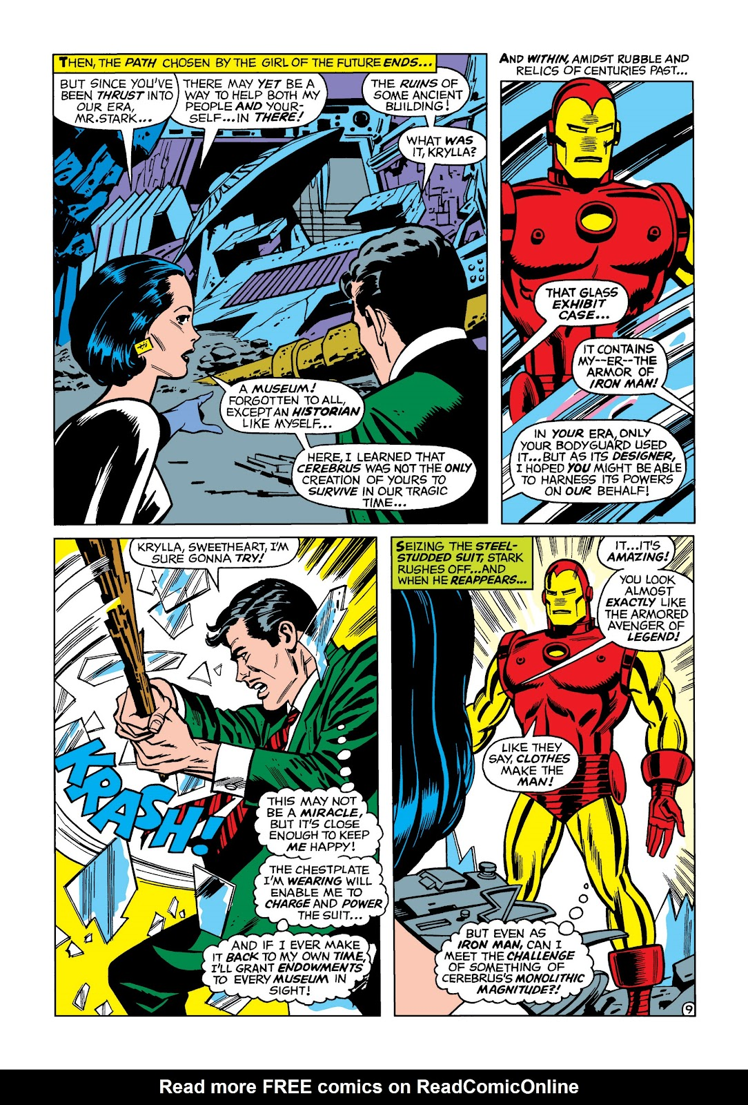 Read online Marvel Masterworks: The Invincible Iron Man comic -  Issue # TPB 5 (Part 1) - 79