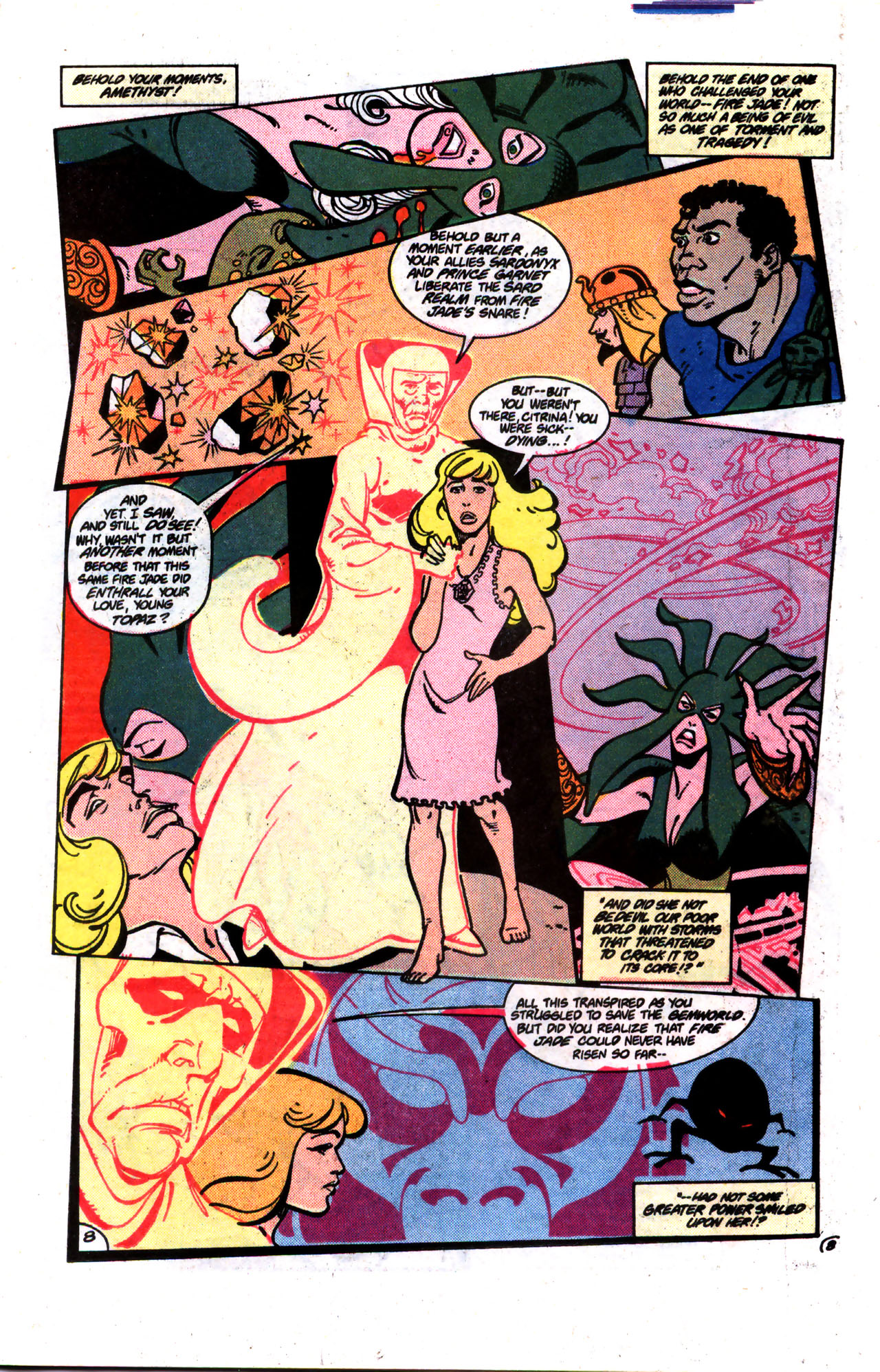 Read online Amethyst (1985) comic -  Issue #9 - 8