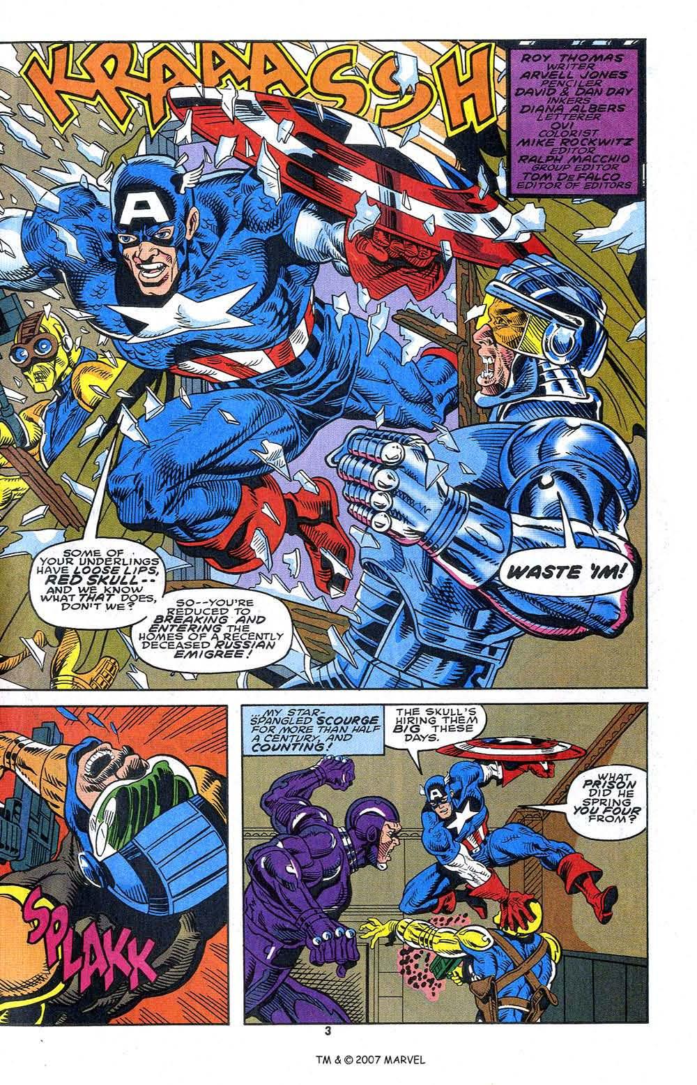Read online Captain America (1968) comic -  Issue # _Annual 13 - 5