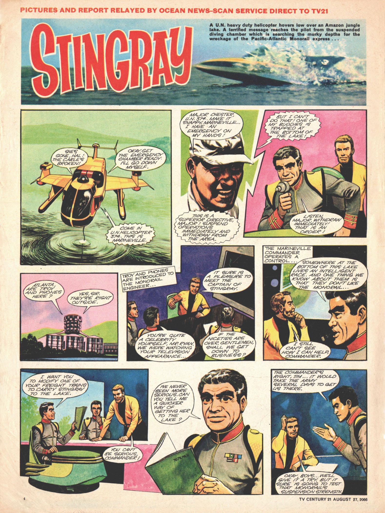 Read online TV Century 21 (TV 21) comic -  Issue #84 - 4