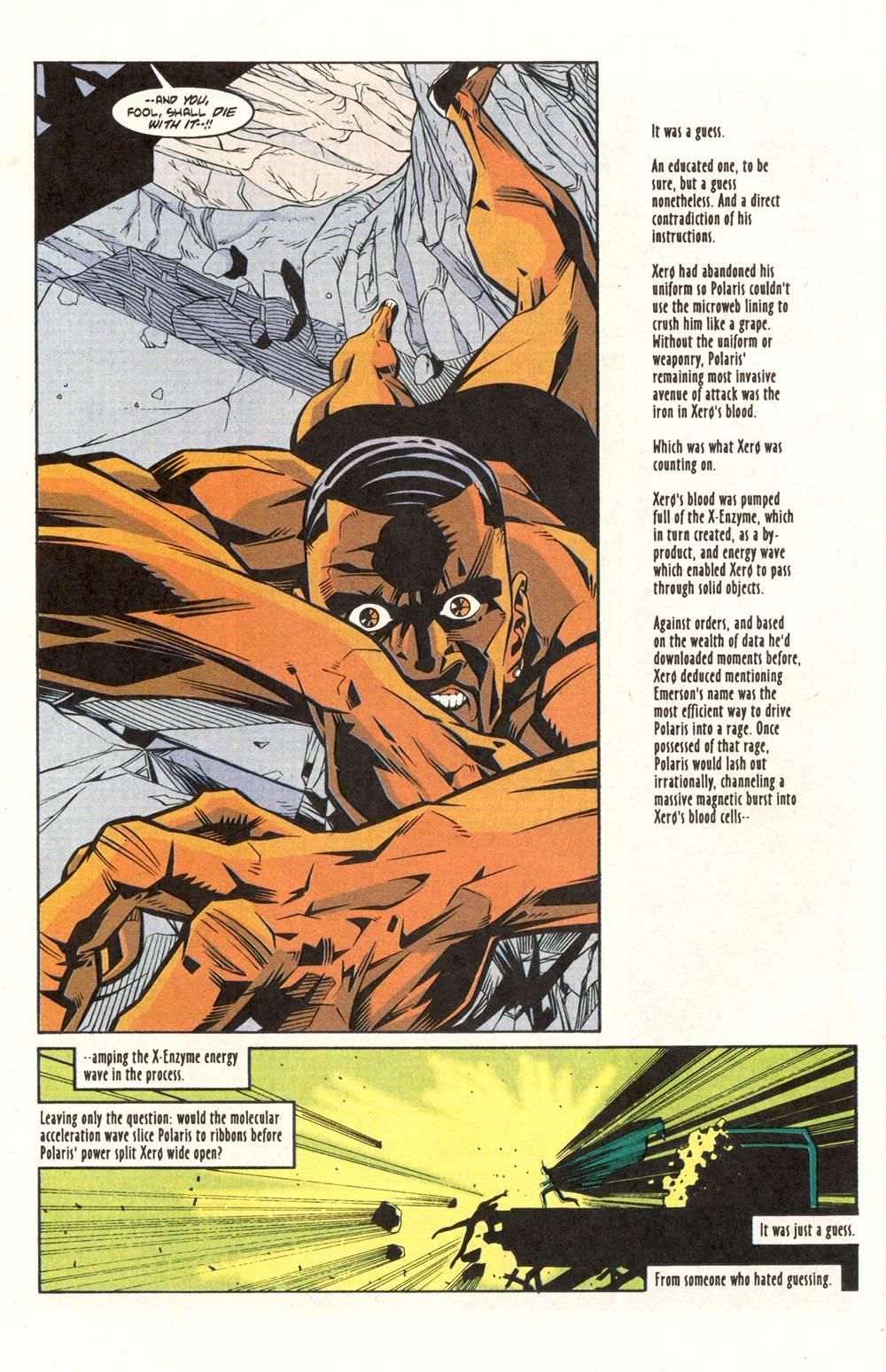 Read online Xero comic -  Issue #6 - 23
