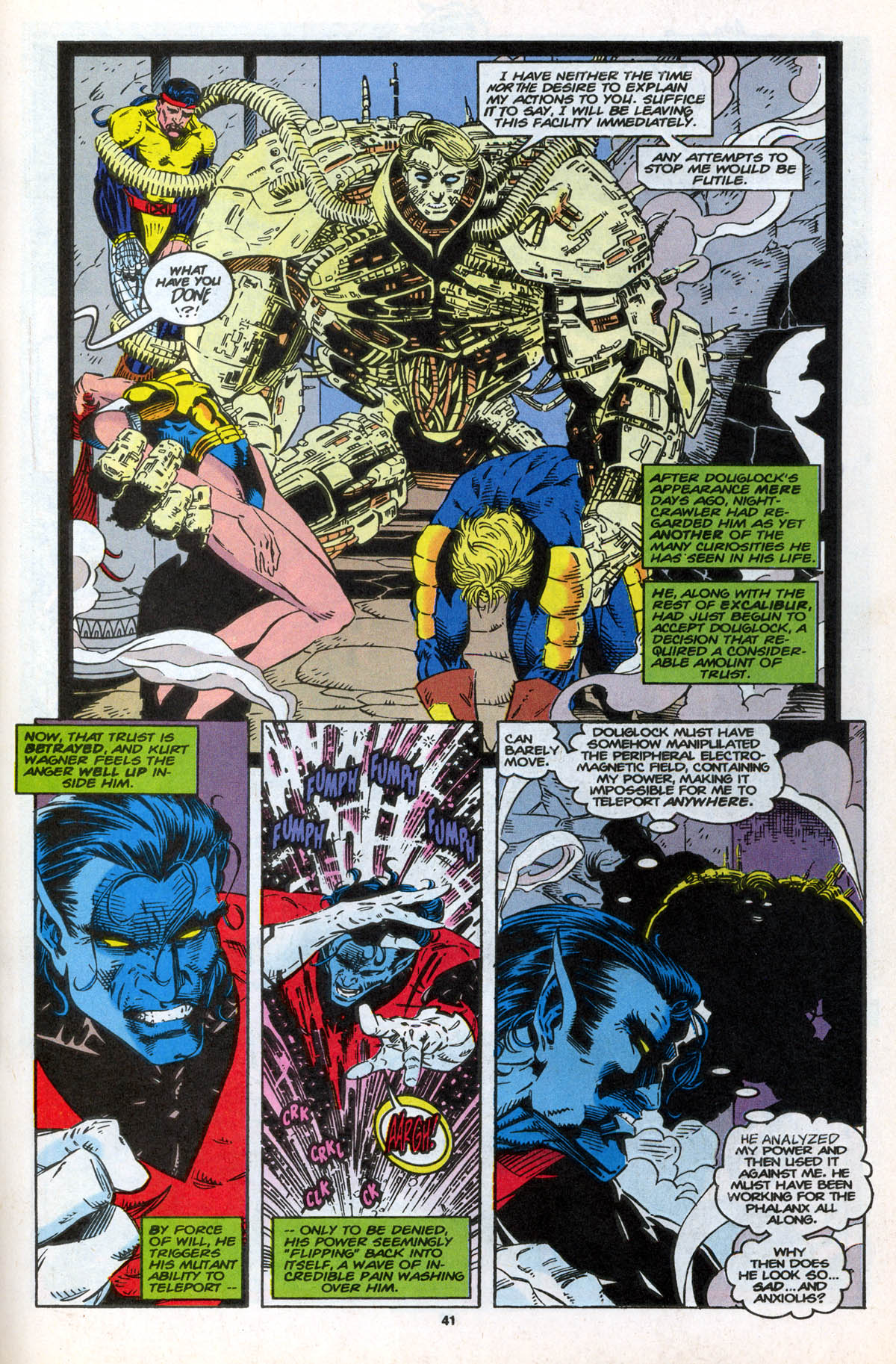 Read online X-Factor (1986) comic -  Issue #106 - 41