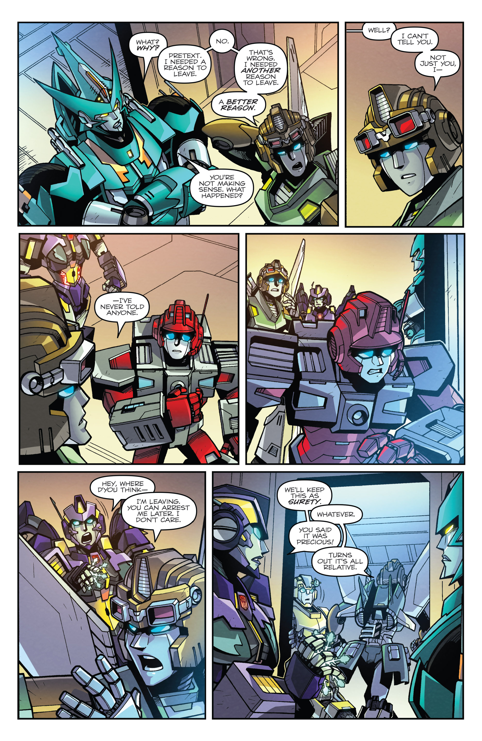 Read online Transformers: Lost Light comic -  Issue #3 - 16