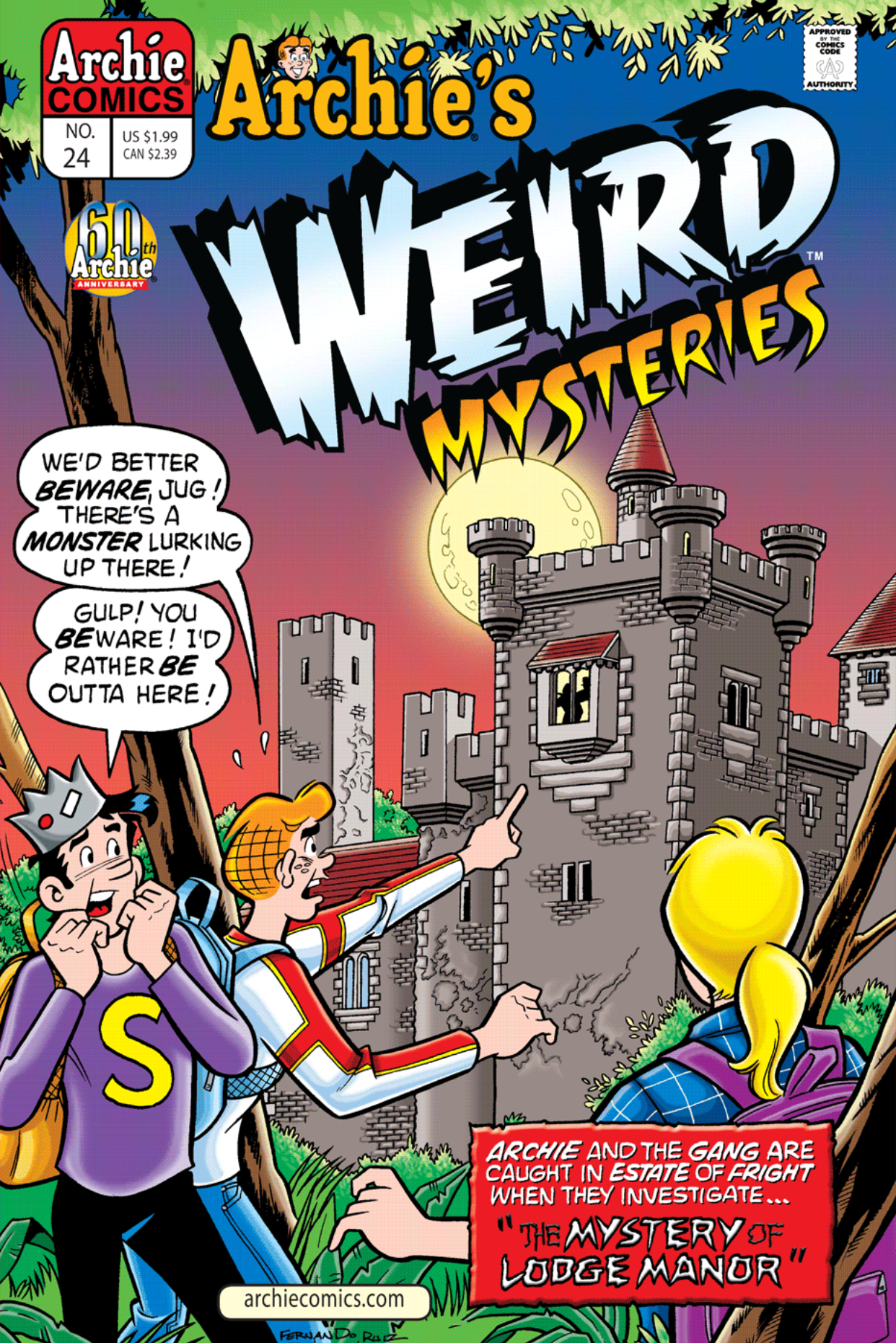 Read online Archie's Weird Mysteries comic -  Issue #24 - 1