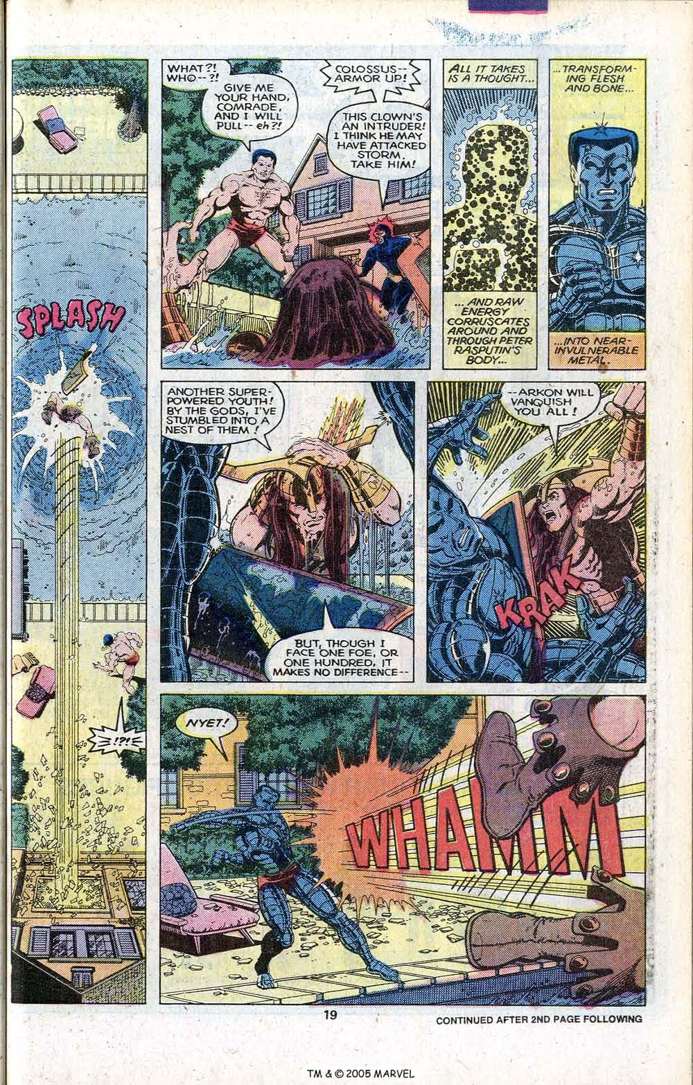 Read online Uncanny X-Men (1963) comic -  Issue # _Annual 3 - 21