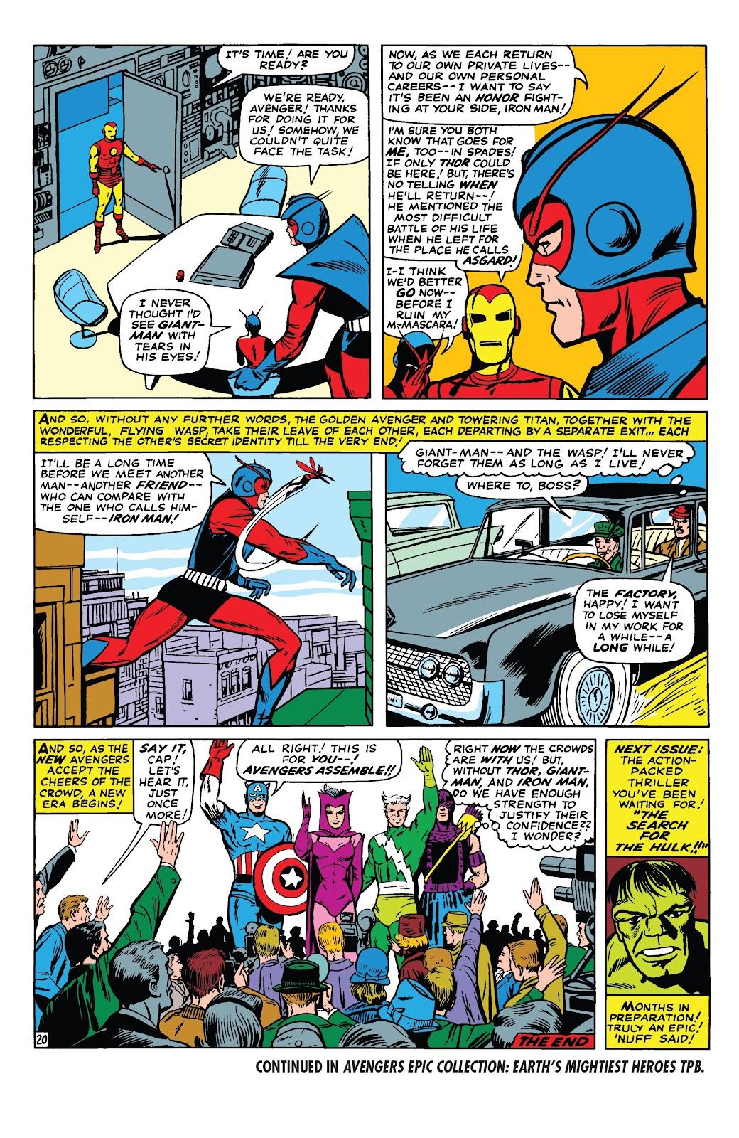 Read online Marvel Tales: Avengers comic -  Issue # Full - 25
