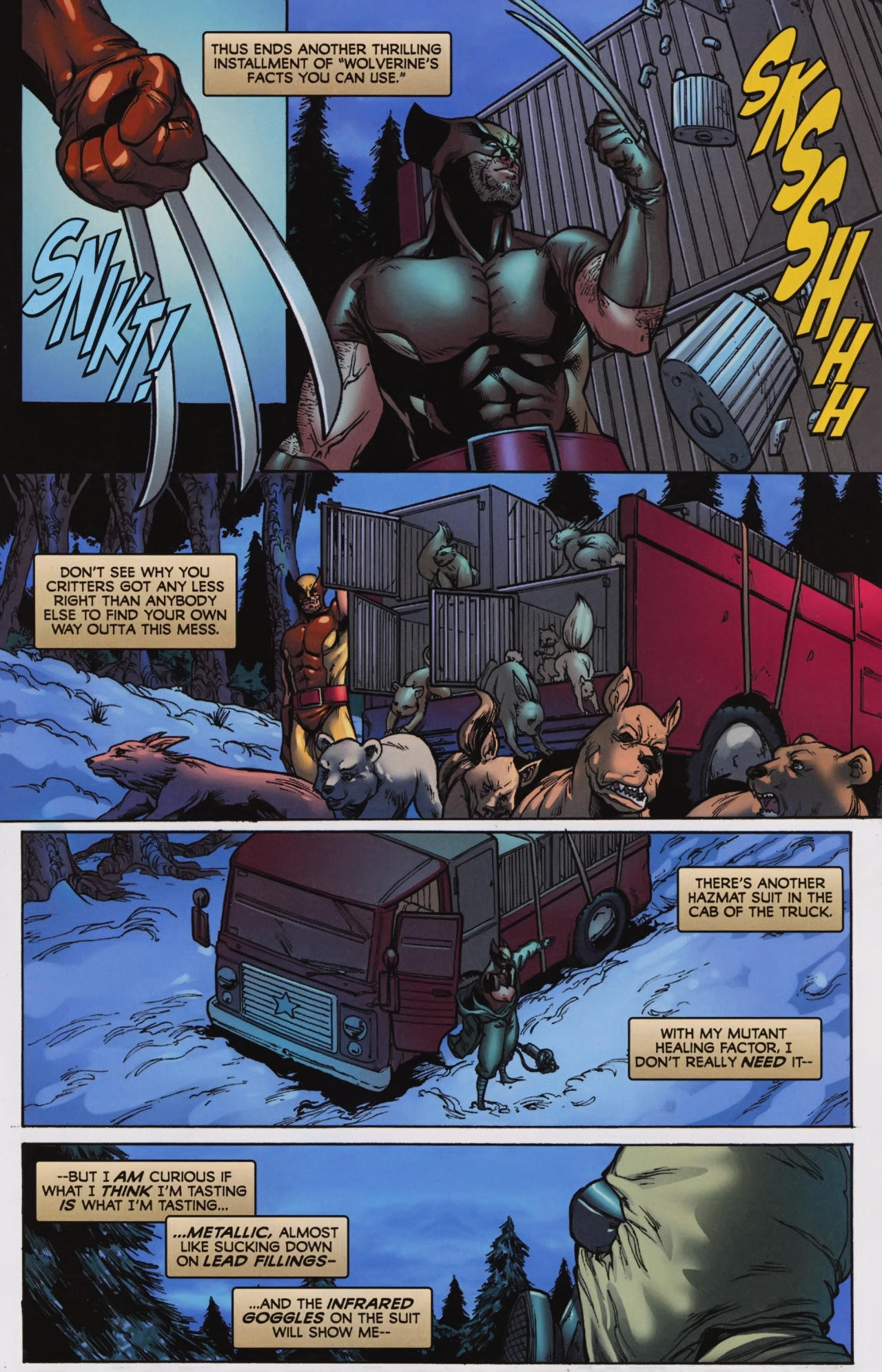 Read online Wolverine: First Class comic -  Issue #7 - 4