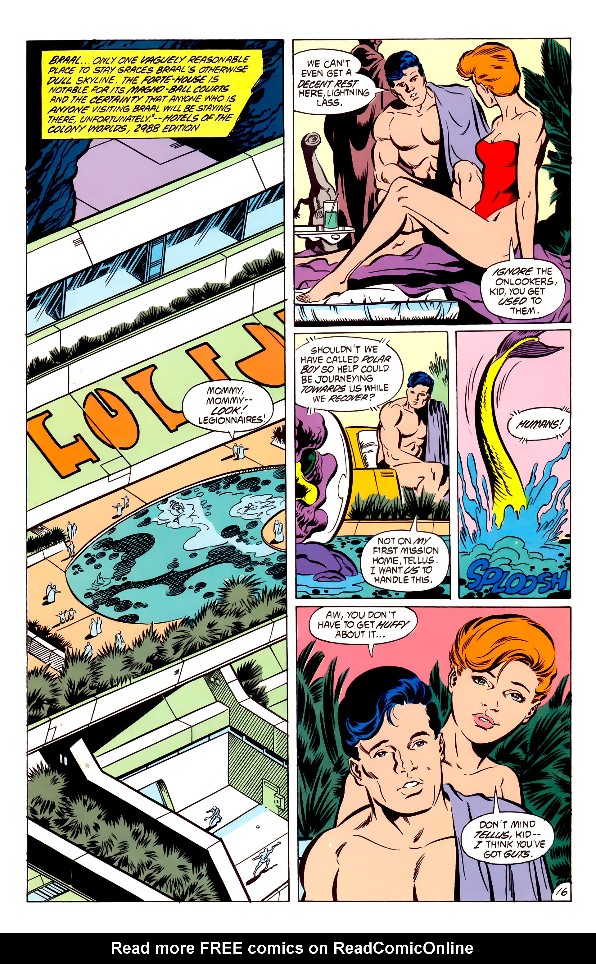Legion of Super-Heroes (1984) 53 Page 16