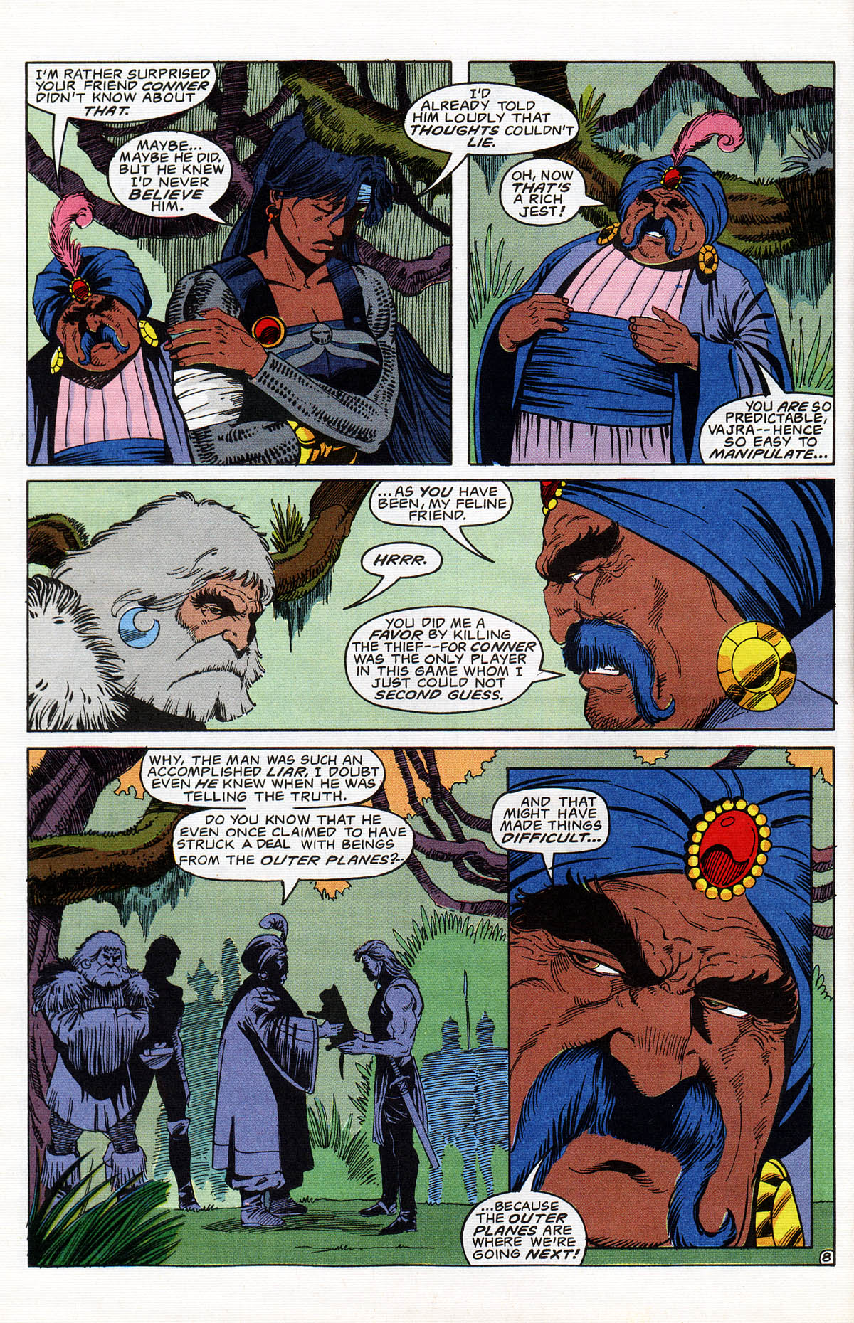 Read online Advanced Dungeons & Dragons comic -  Issue #16 - 9