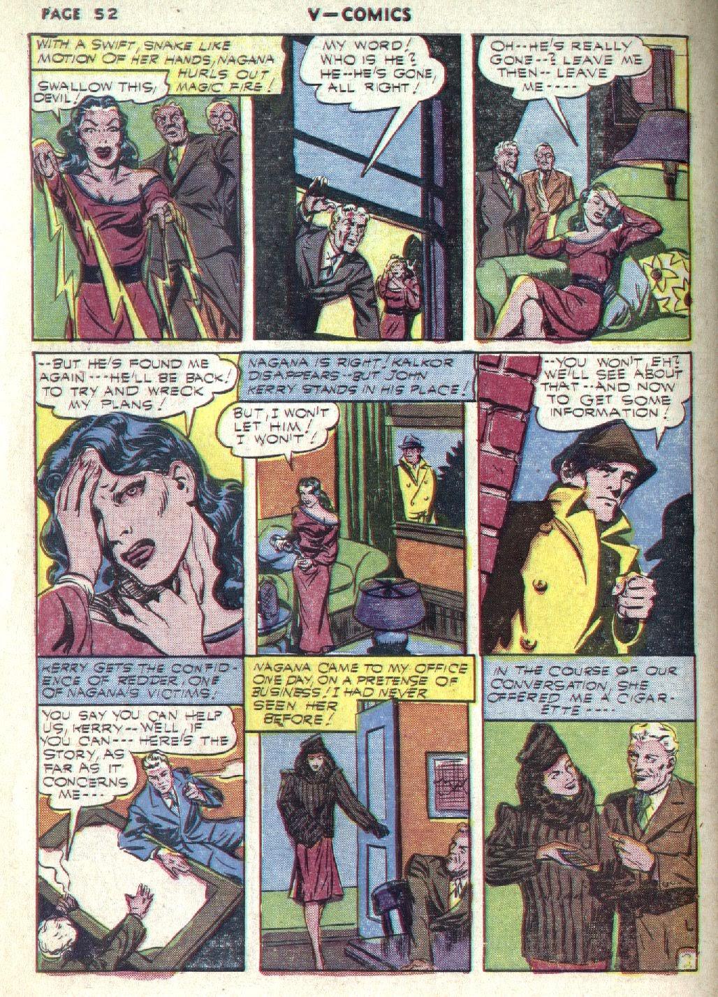 Read online V...- Comics comic -  Issue #1 - 53