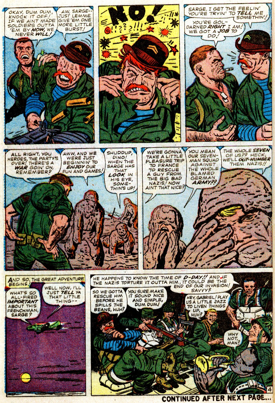 Read online Sgt. Fury comic -  Issue #1 - 8