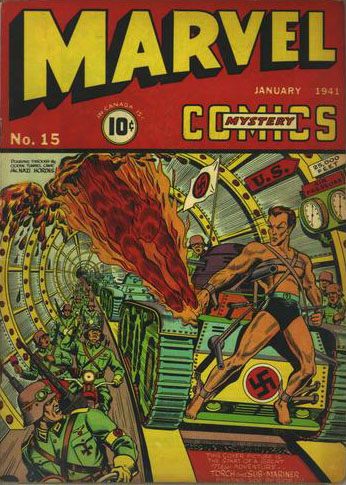 Marvel Mystery Comics (1939) issue 15 - Page 1