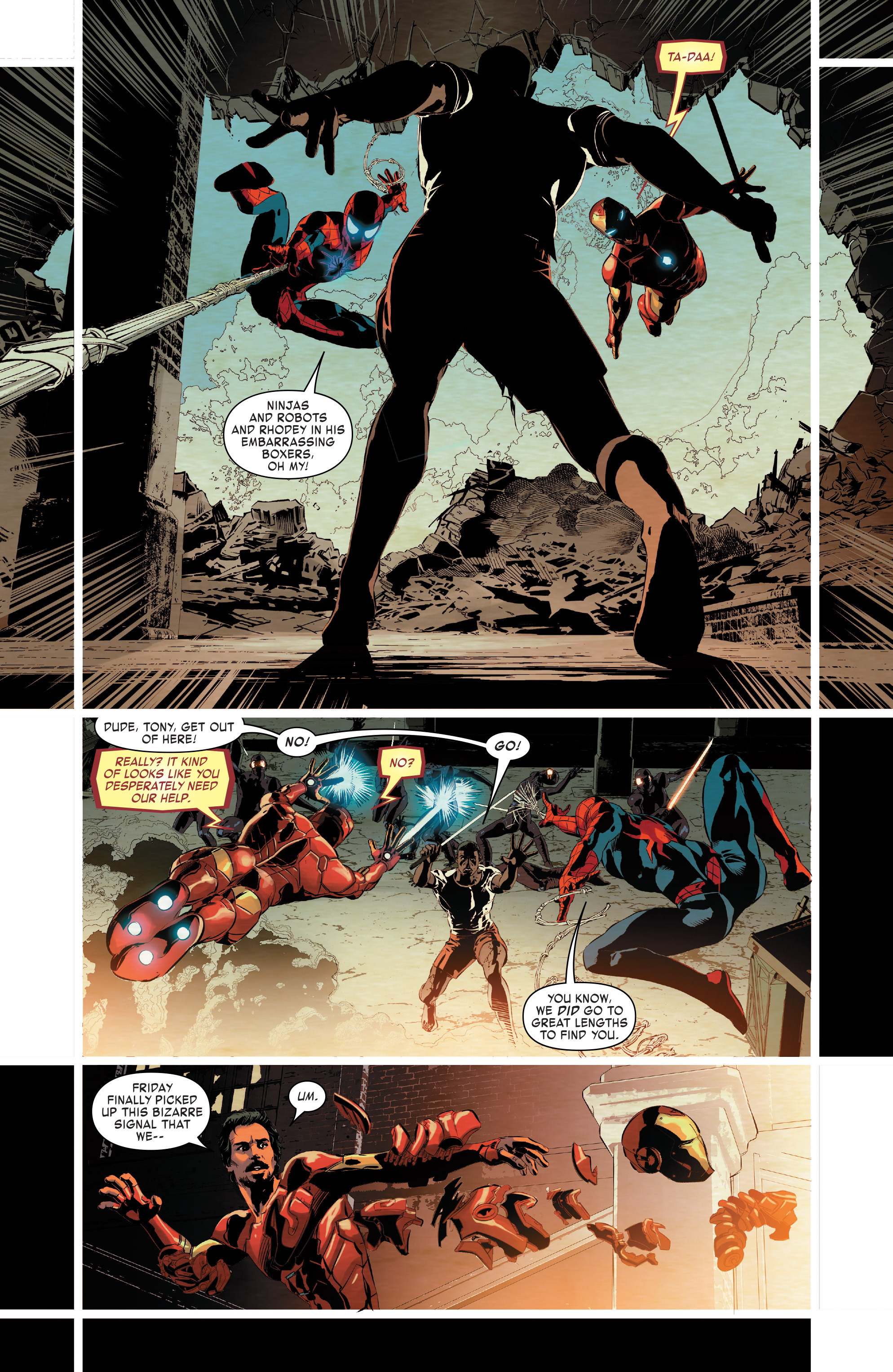 Read online True Believers: Invincible Iron Man-The War Machines comic -  Issue # Full - 60