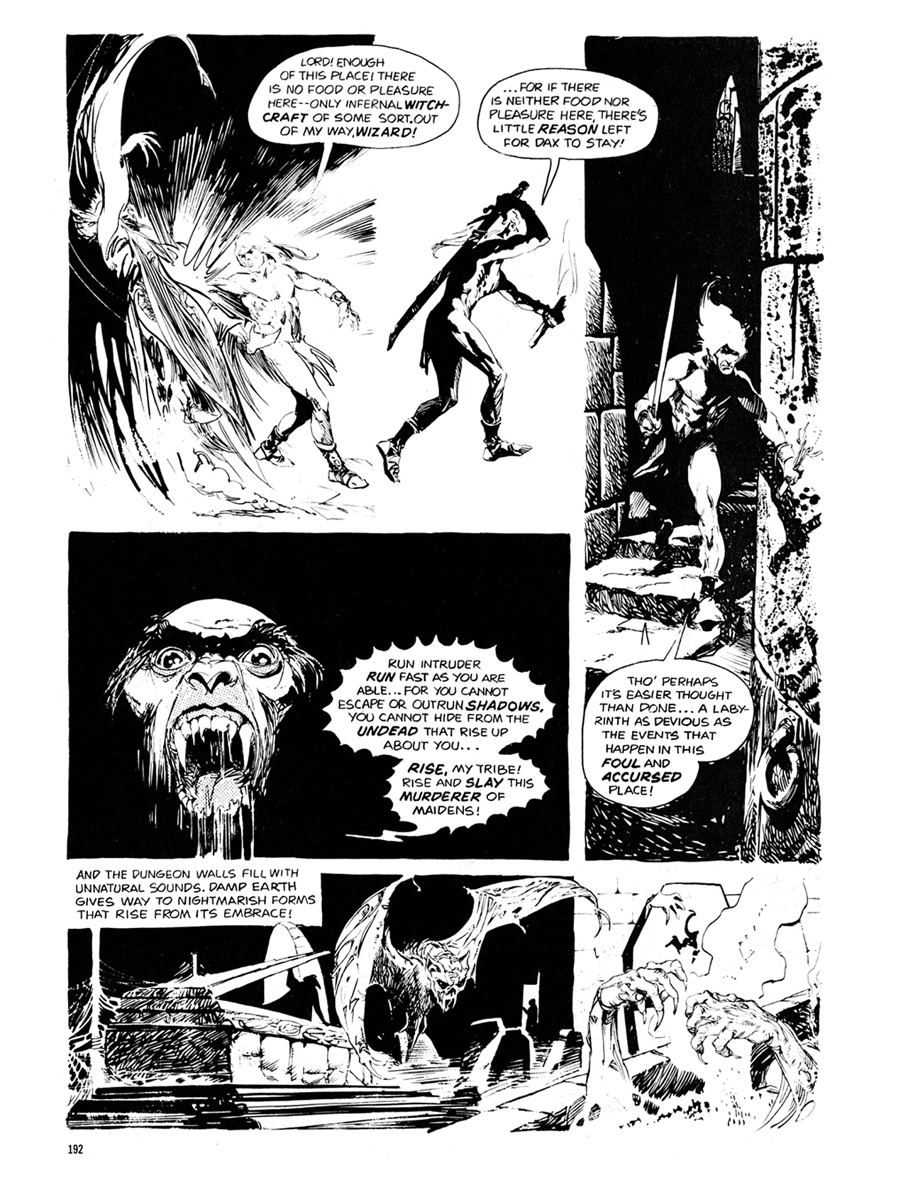 Read online Eerie Archives comic -  Issue # TPB 10 - 193