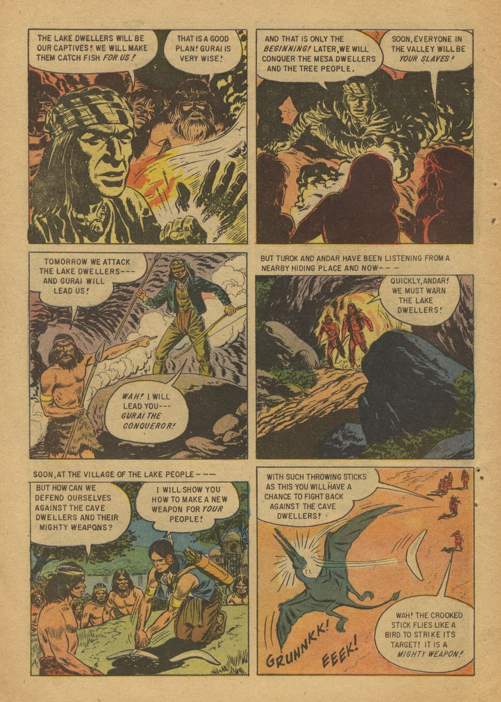 Read online Turok, Son of Stone comic -  Issue #12 - 10