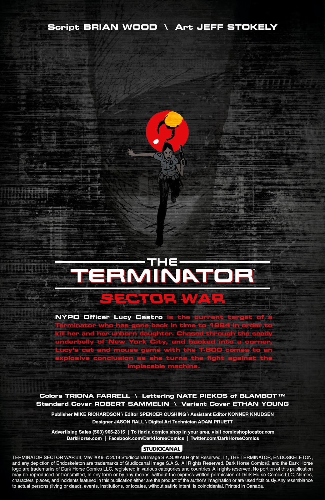 Read online The Terminator: Sector War comic -  Issue #4 - 2