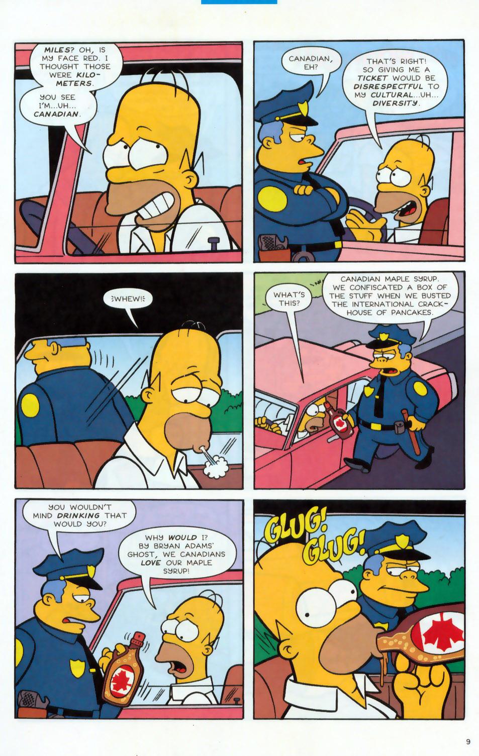 Read online Simpsons Comics comic -  Issue #78 - 10