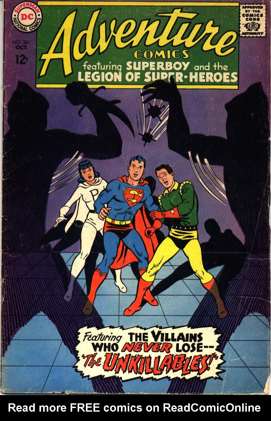 Read online Adventure Comics (1938) comic -  Issue #361 - 1