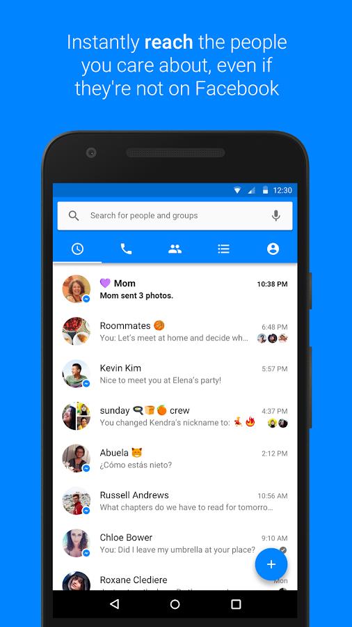 Download Aplikasi Messenger Apk Update terbaru 2017