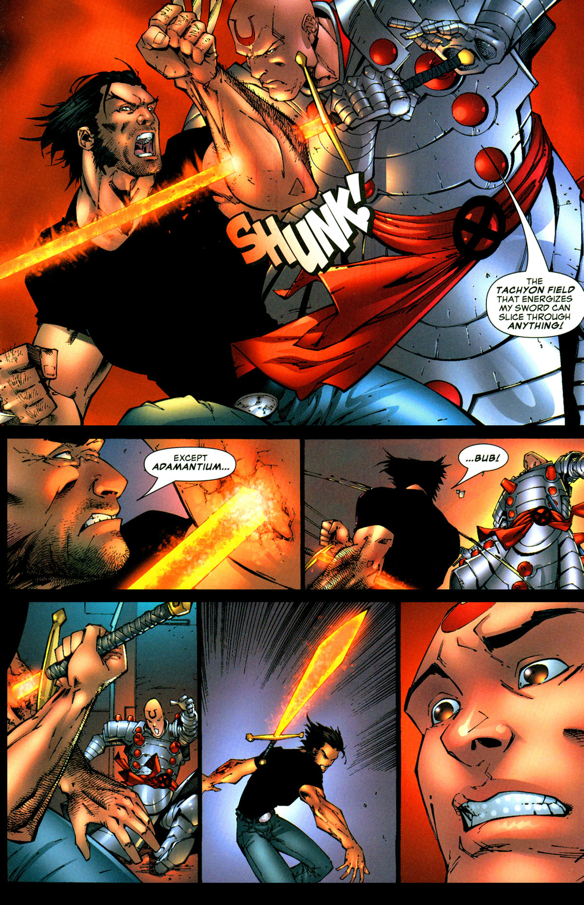 Read online X-Men: Age of Apocalypse One-Shot comic -  Issue # Full - 23