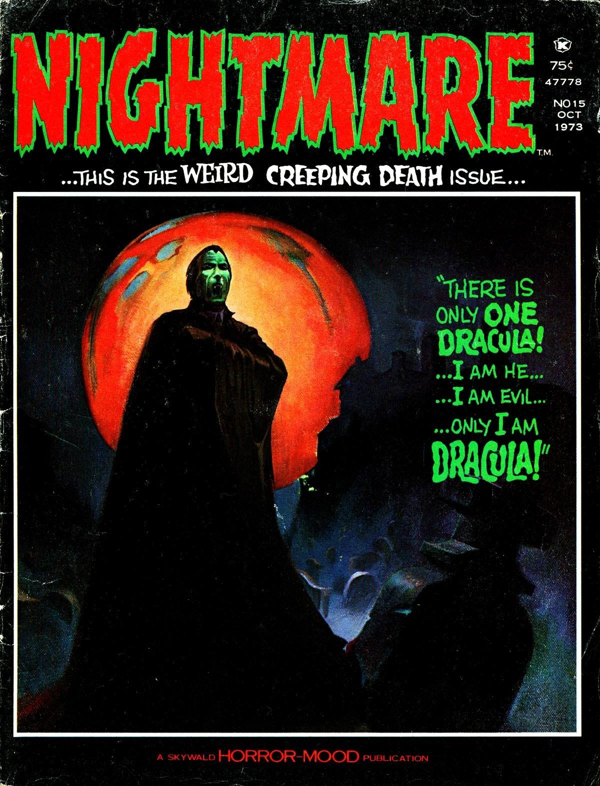 Nightmare (1970) issue 15 - Page 1