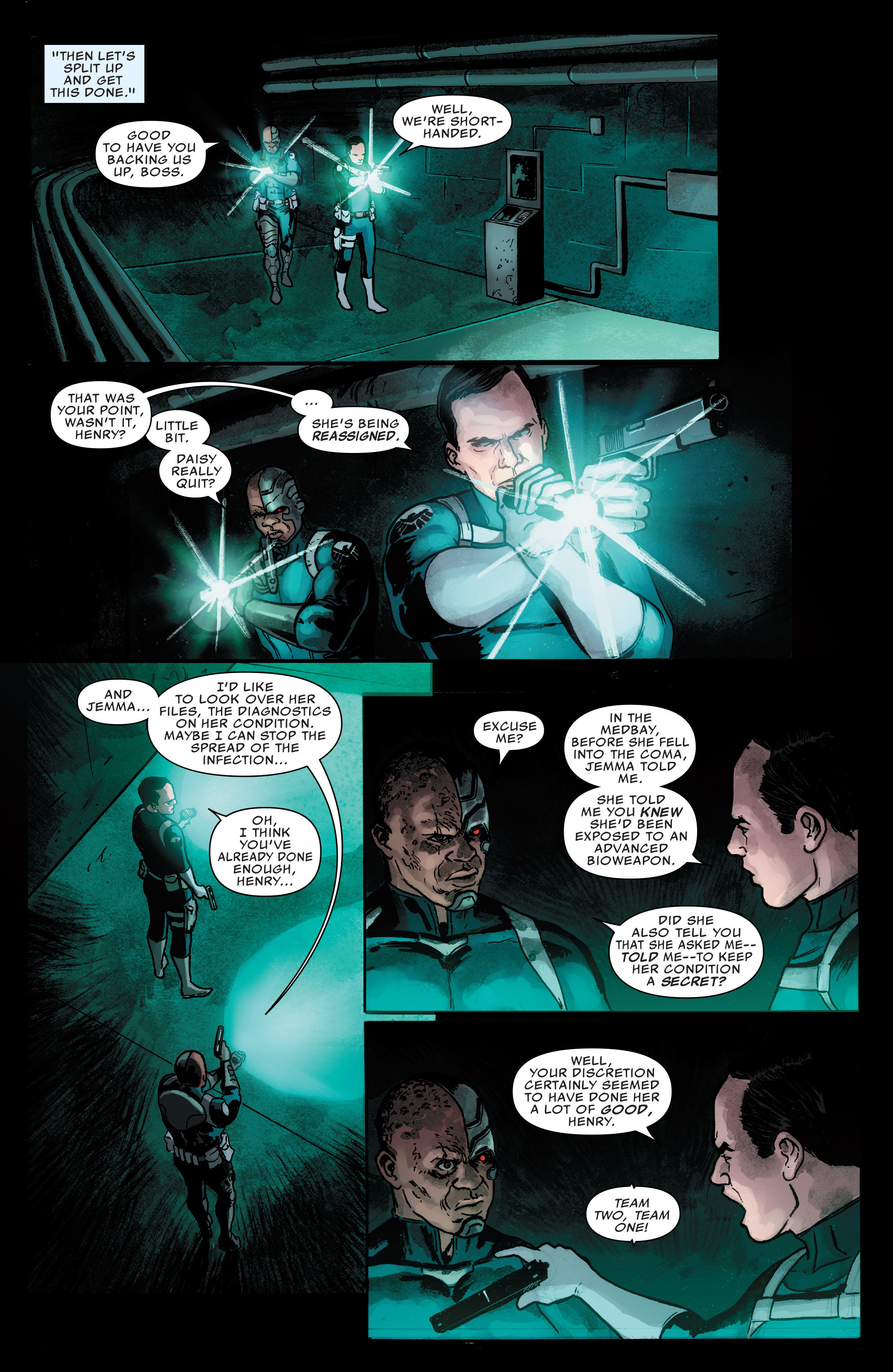 Read online Agents of S.H.I.E.L.D. comic -  Issue #7 - 12