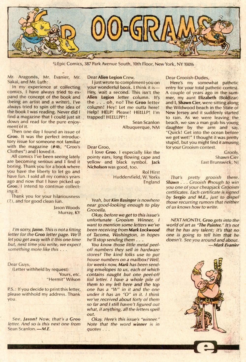 Read online Sergio Aragonés Groo the Wanderer comic -  Issue #63 - 24