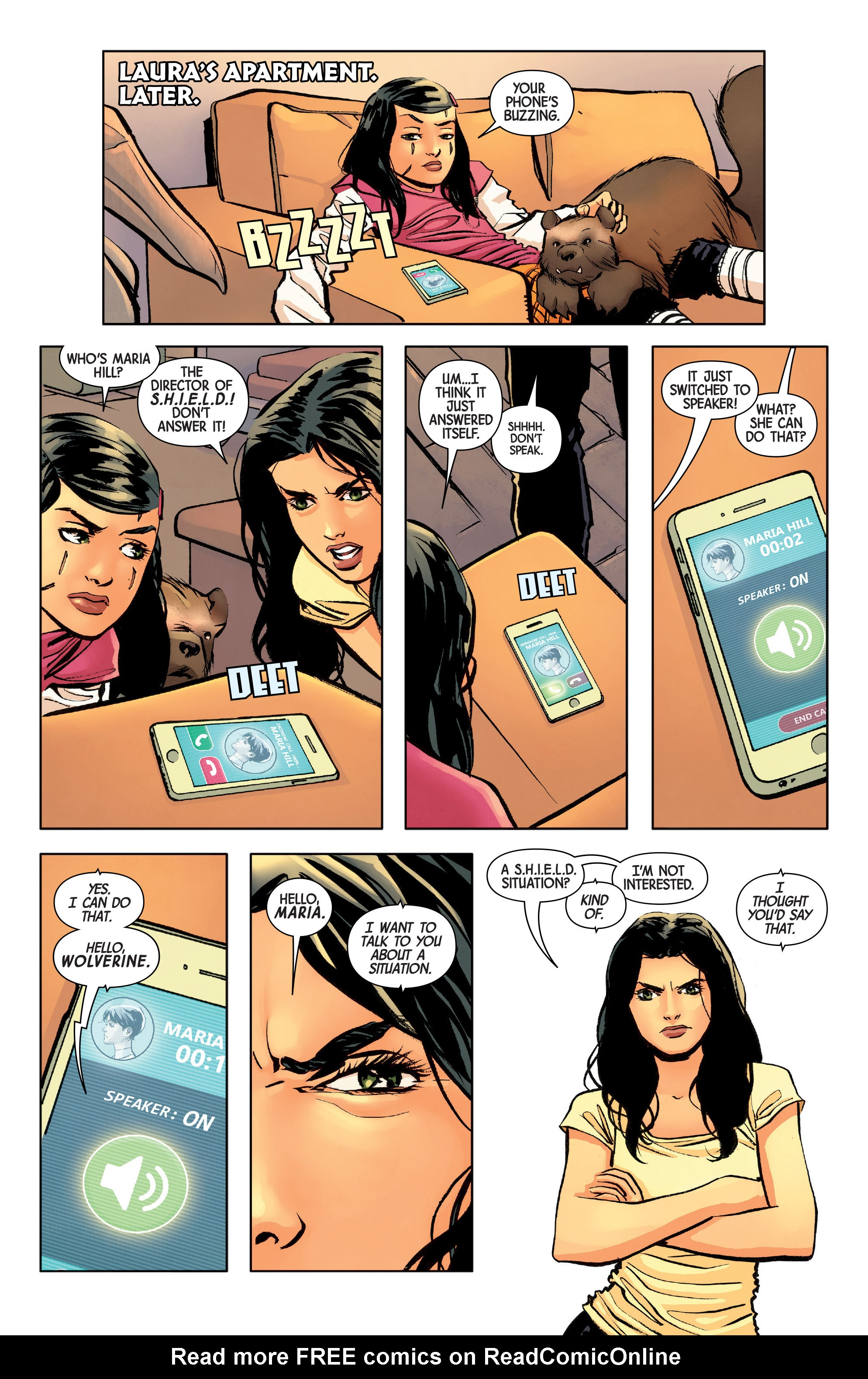 Read online All-New Wolverine (2016) comic -  Issue #8 - 9