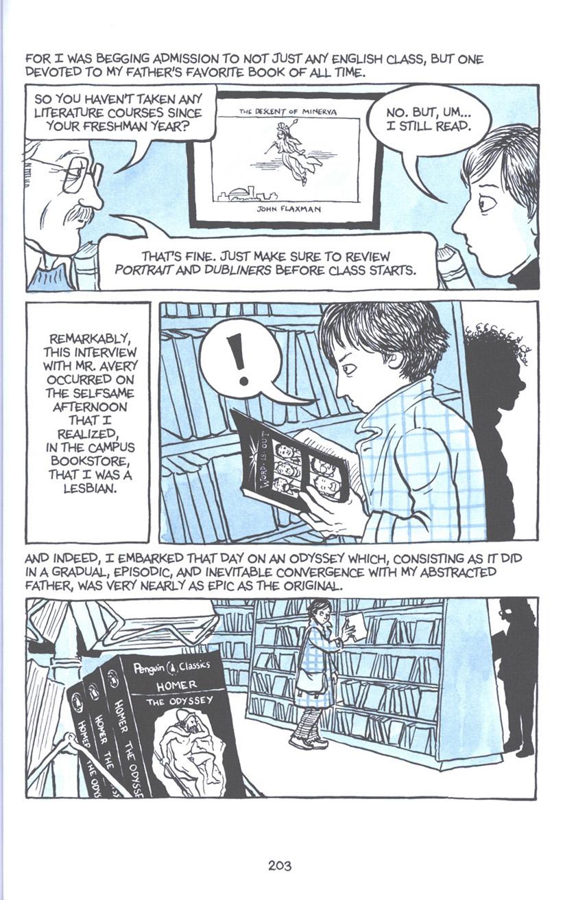Read online Fun Home: A Family Tragicomic comic -  Issue # TPB - 209