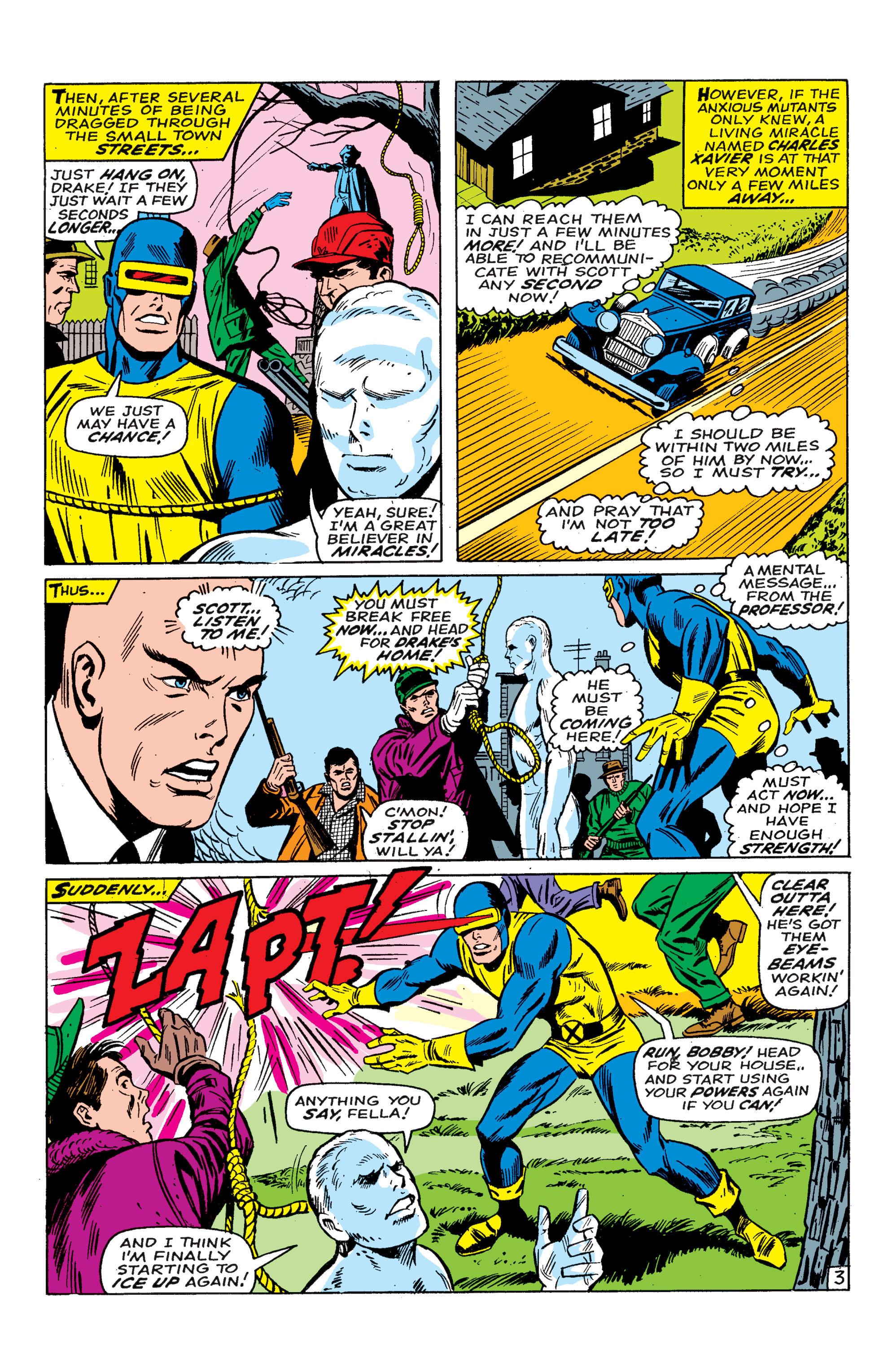Read online Uncanny X-Men (1963) comic -  Issue #46 - 19