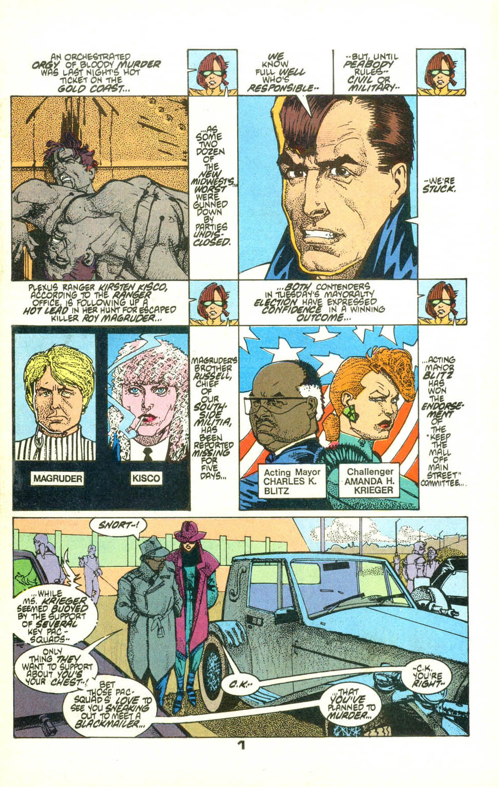 Read online American Flagg! comic -  Issue #22 - 2