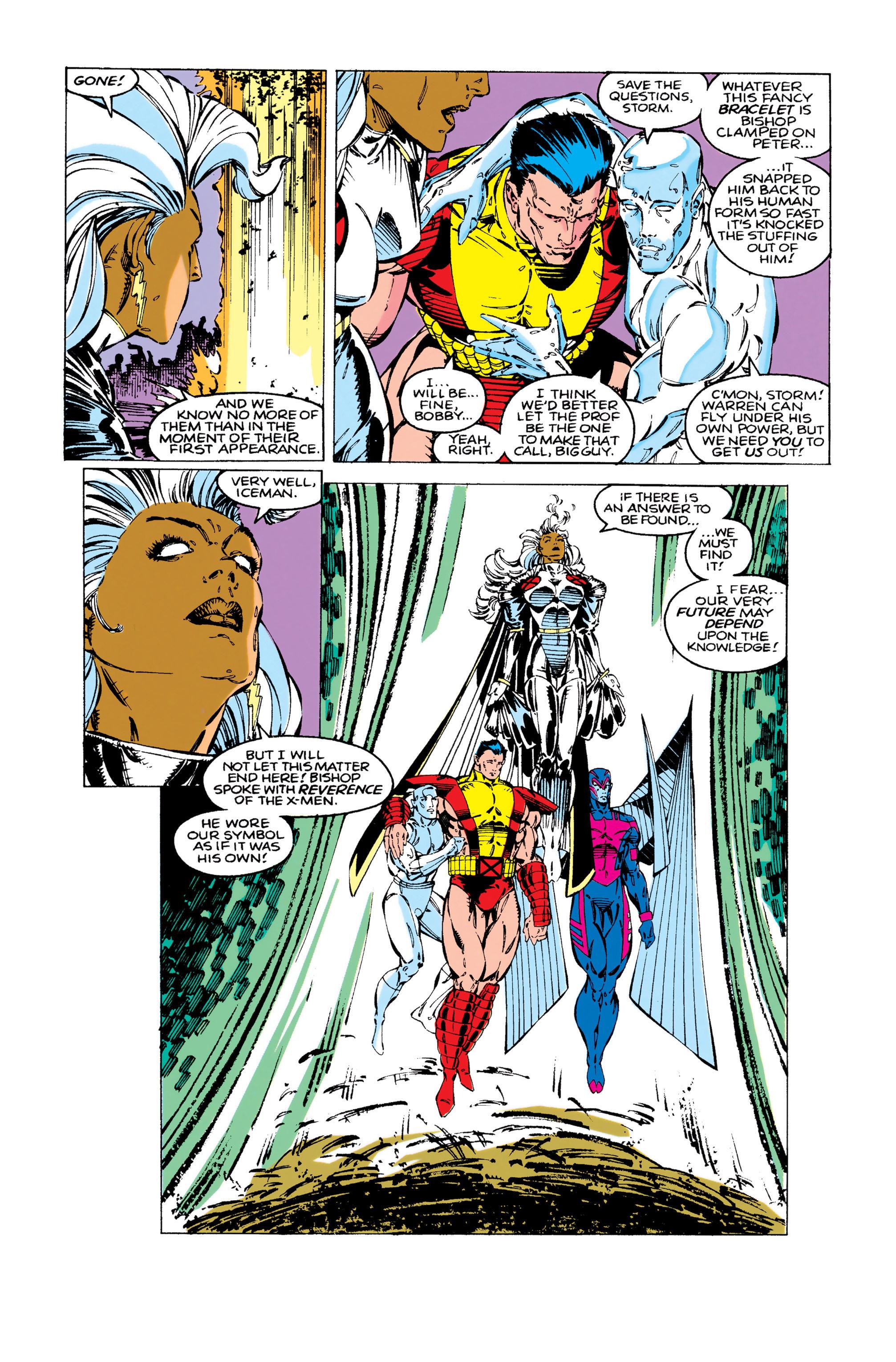 Read online Uncanny X-Men (1963) comic -  Issue #283 - 20