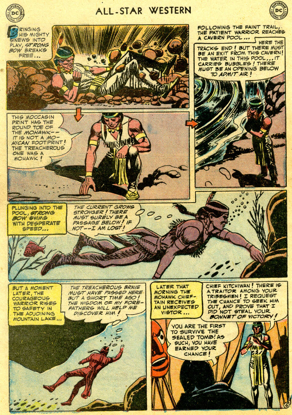 Read online All-Star Western (1951) comic -  Issue #64 - 32