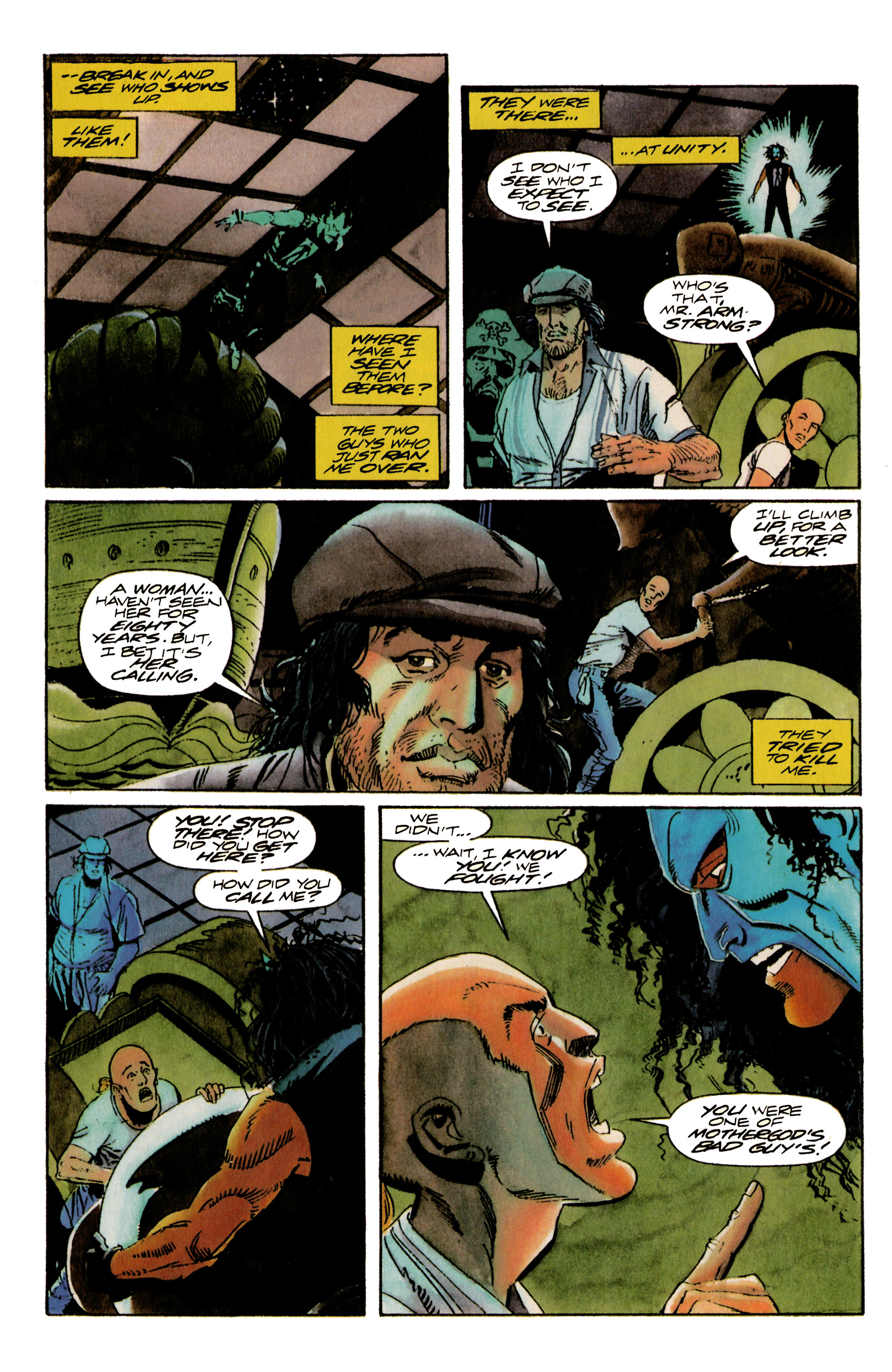 Read online Shadowman (1992) comic -  Issue #17 - 10