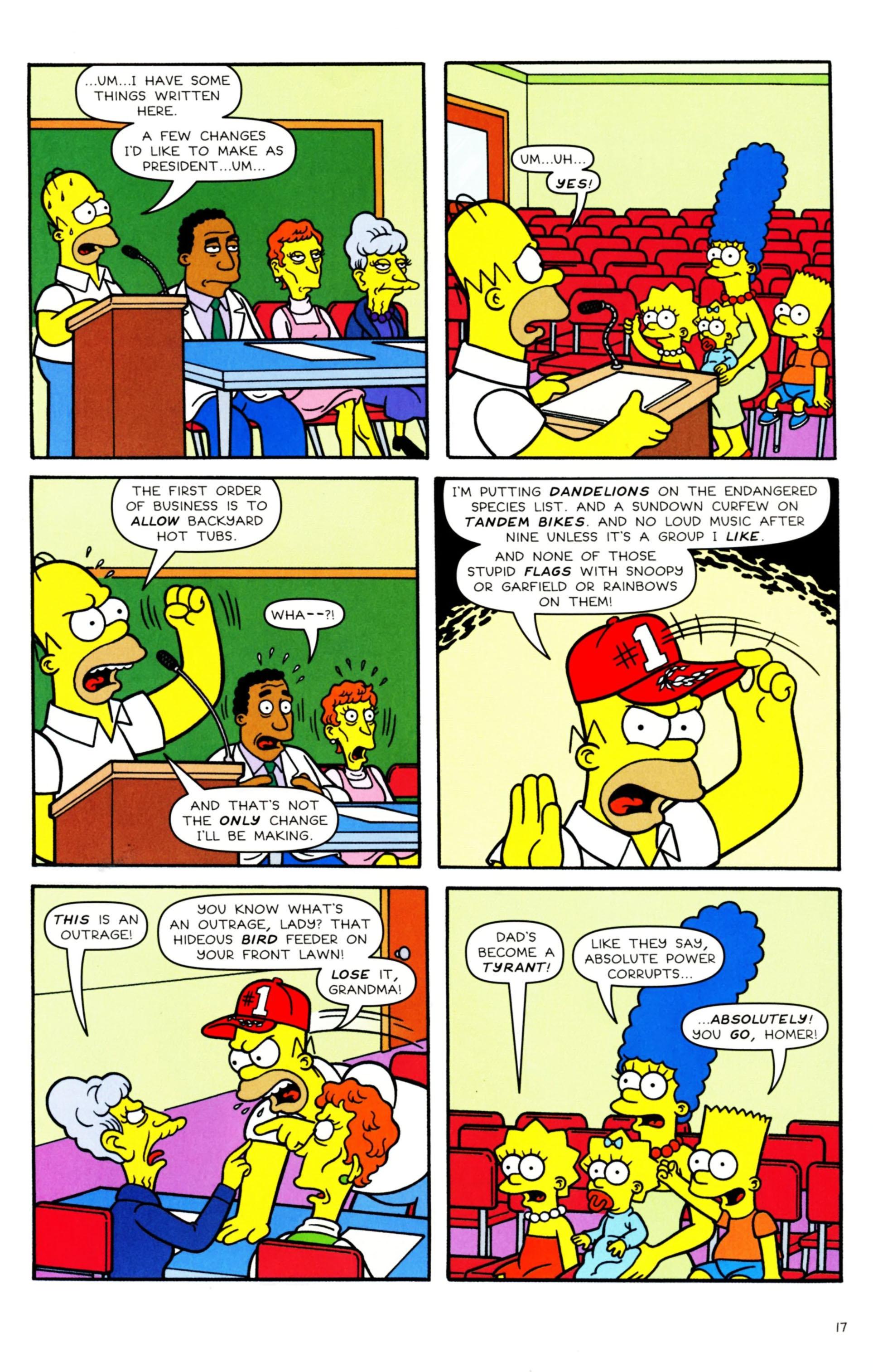 Read online Simpsons Comics comic -  Issue #158 - 14