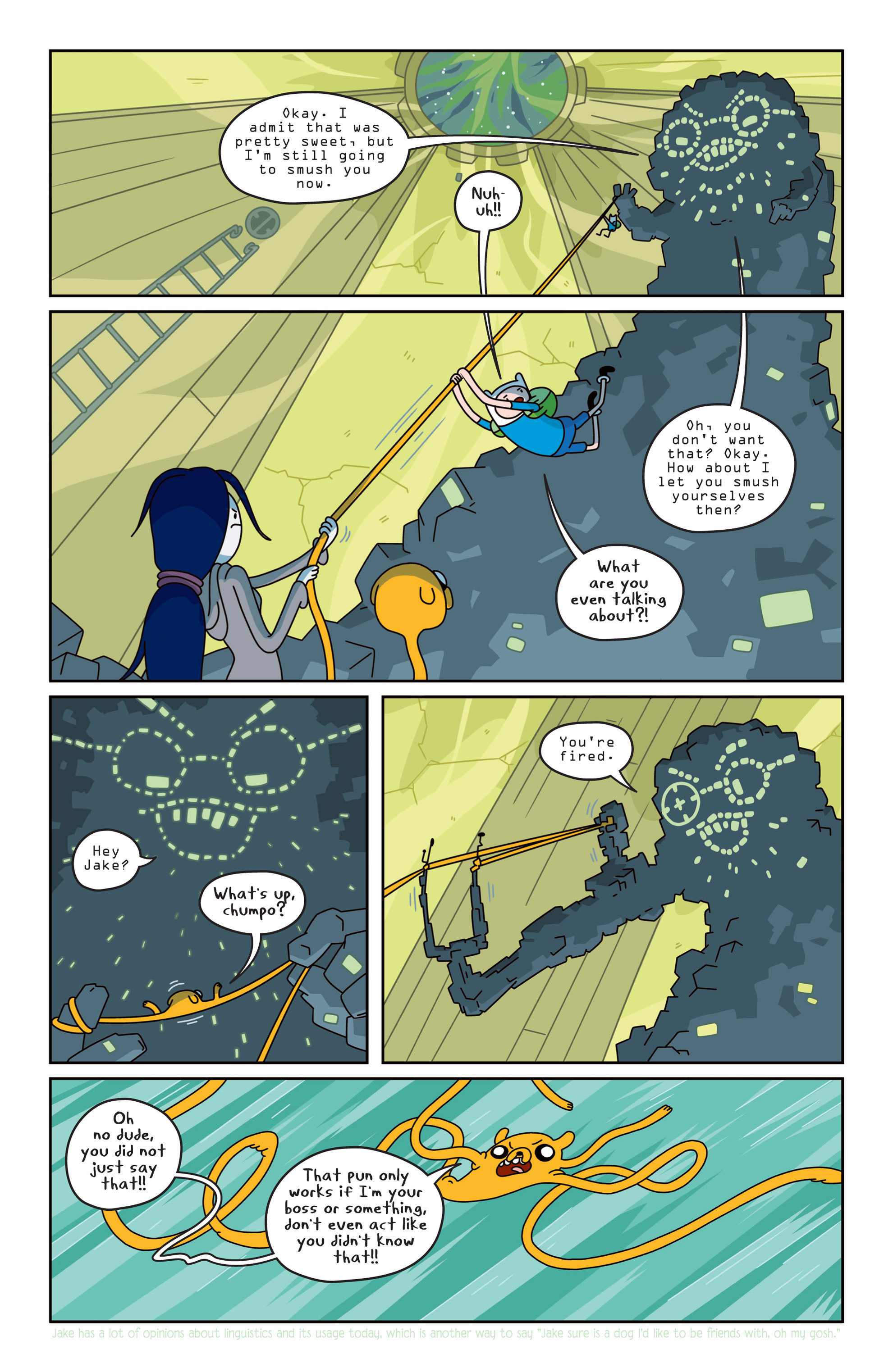 Read online Adventure Time comic -  Issue #14 - 8
