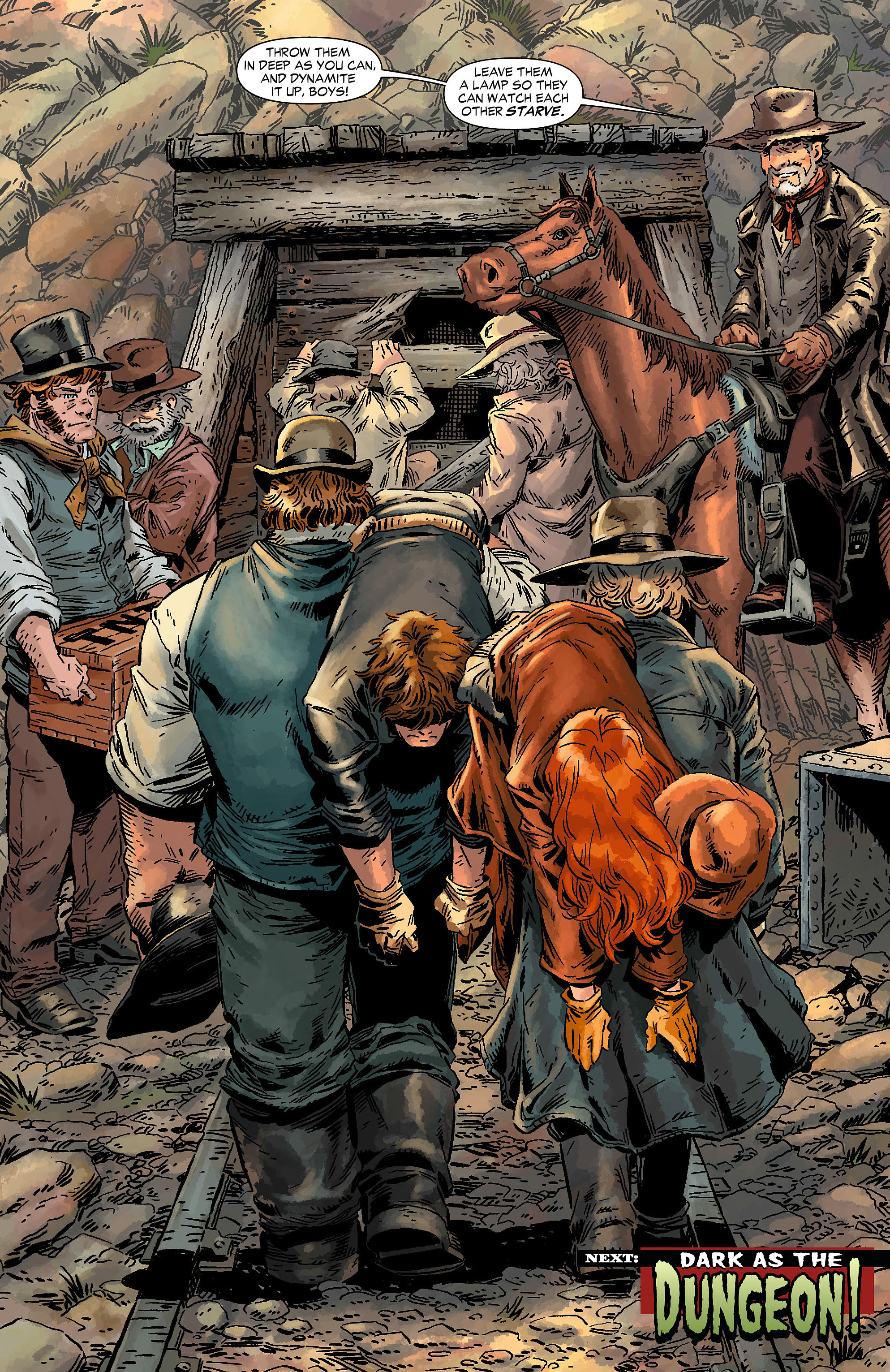 Read online All-Star Western (2011) comic -  Issue #7 - 29