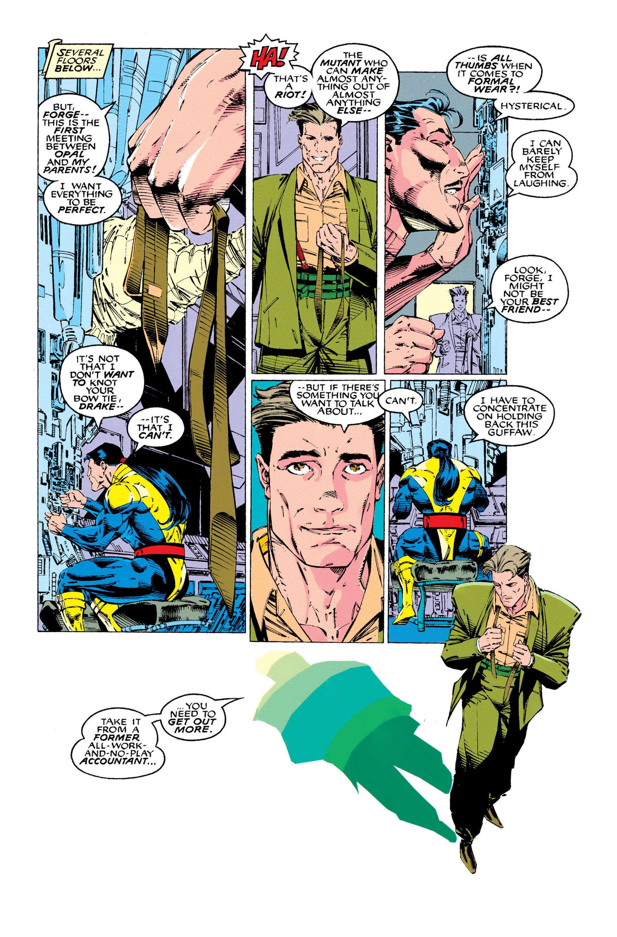 Read online Uncanny X-Men (1963) comic -  Issue #289 - 4